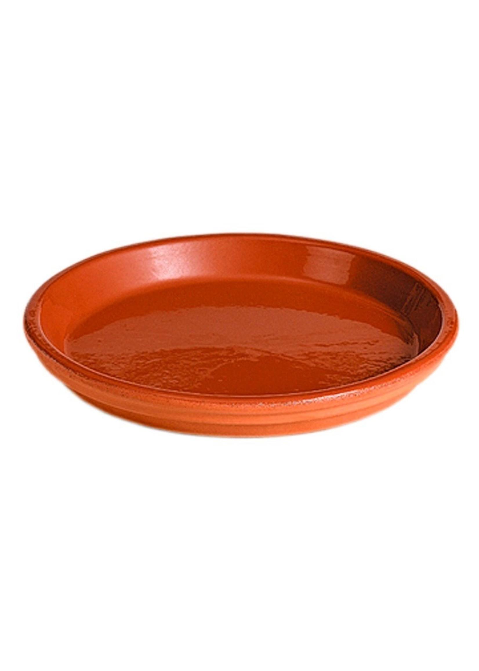 13cm Glazed Saucer