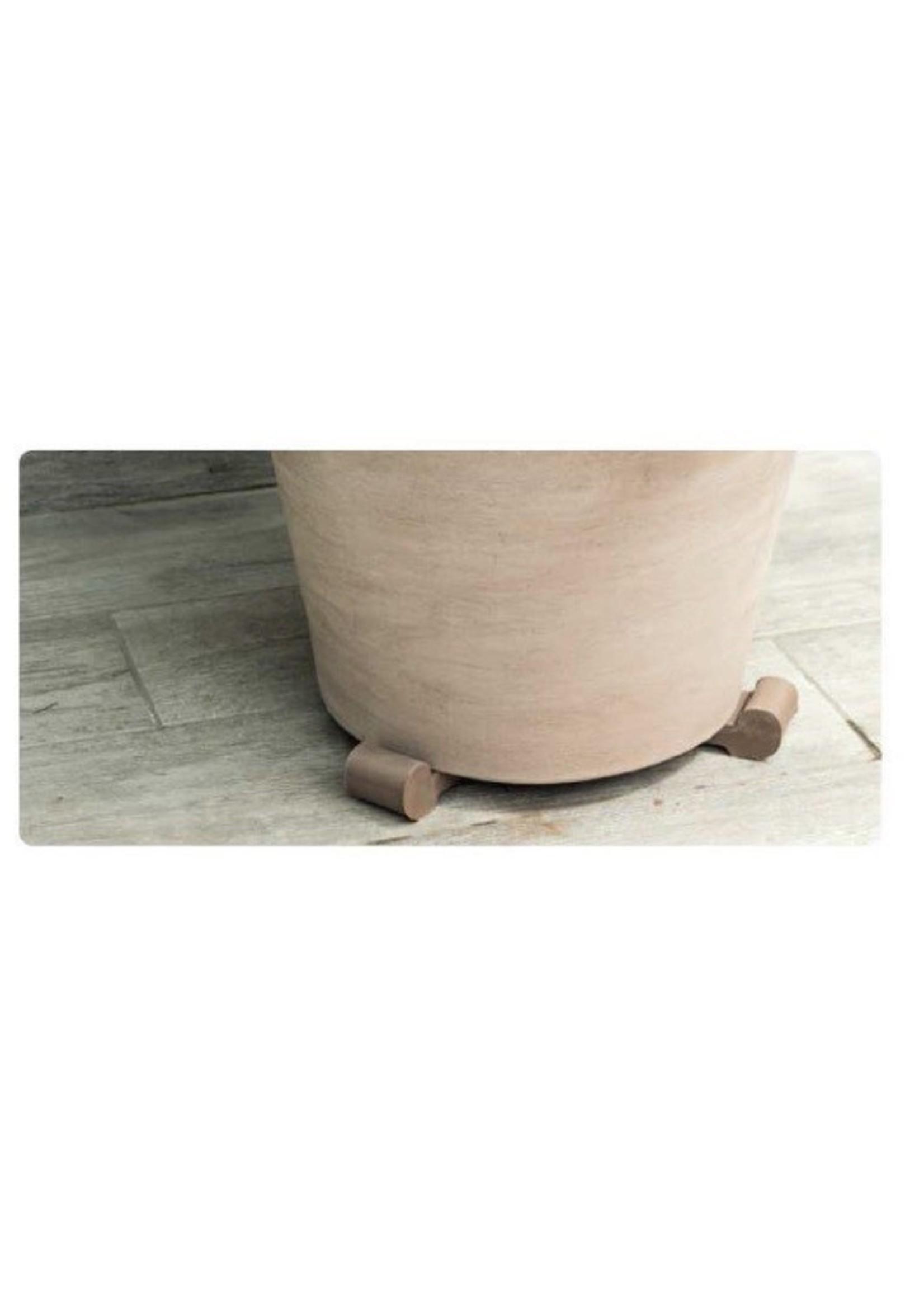 Clay Pot Feet - Graphite