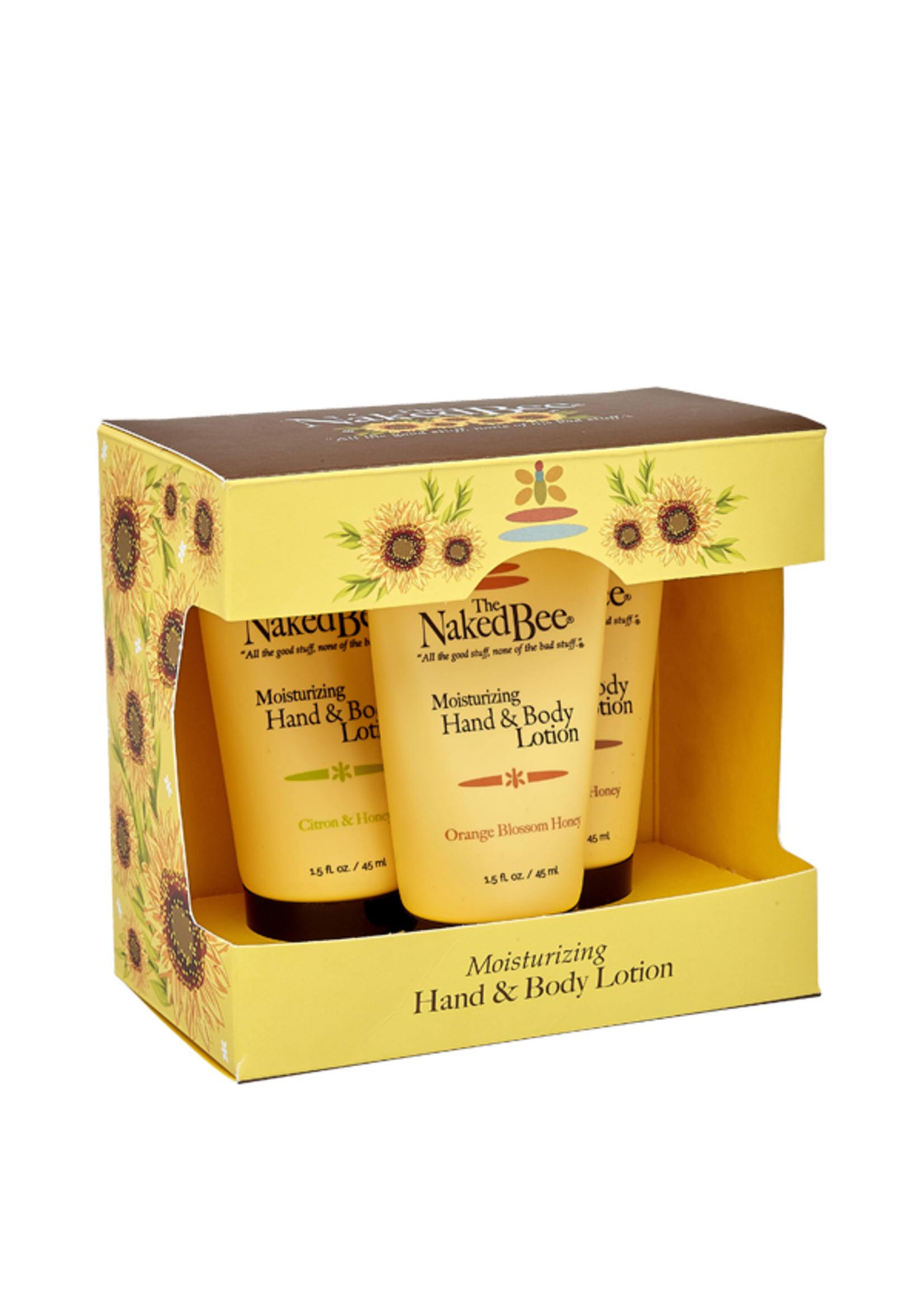 Naked Bee Lotion Trio Set