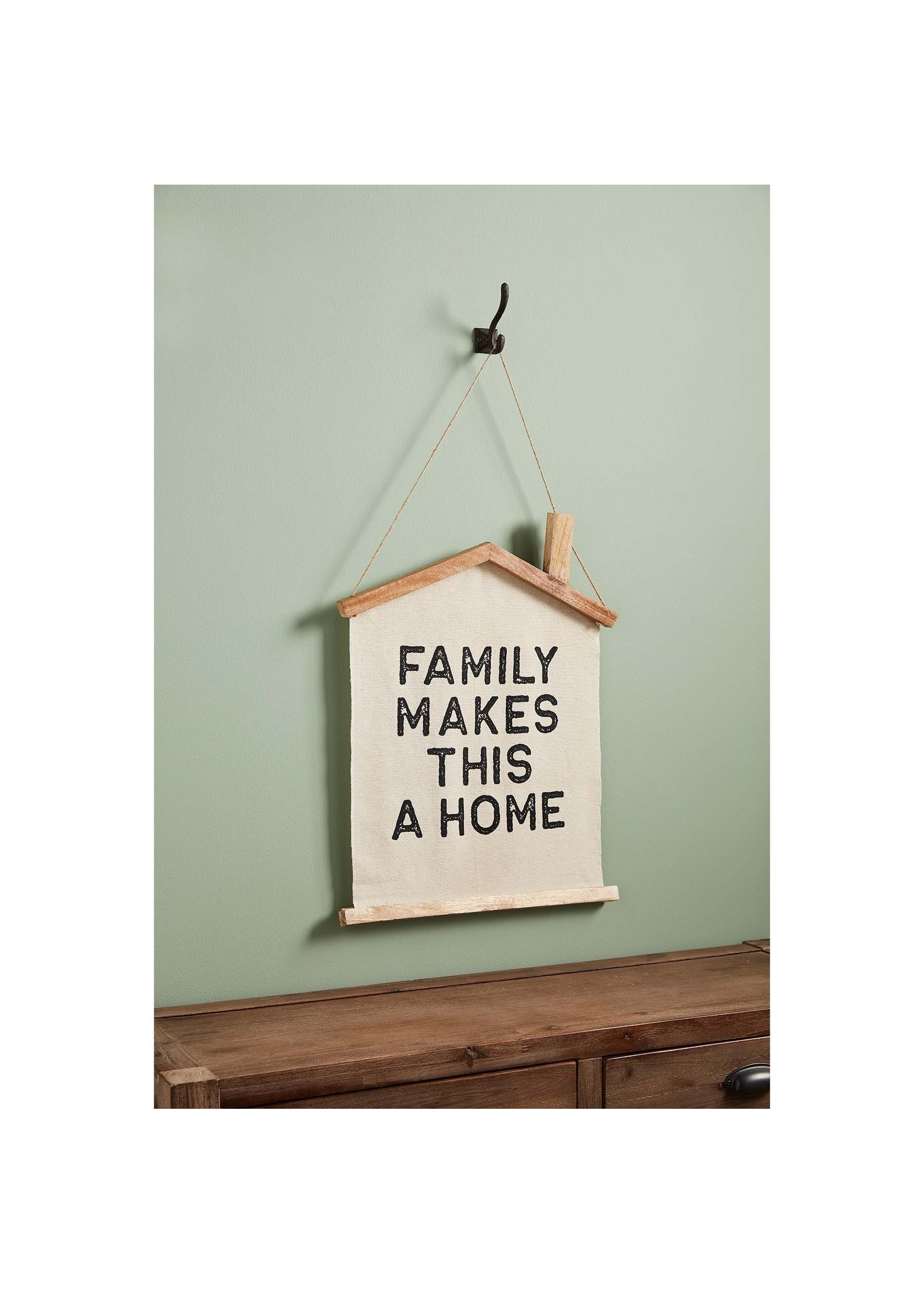 Mud Pie Family Makes this Home Wall Hanger