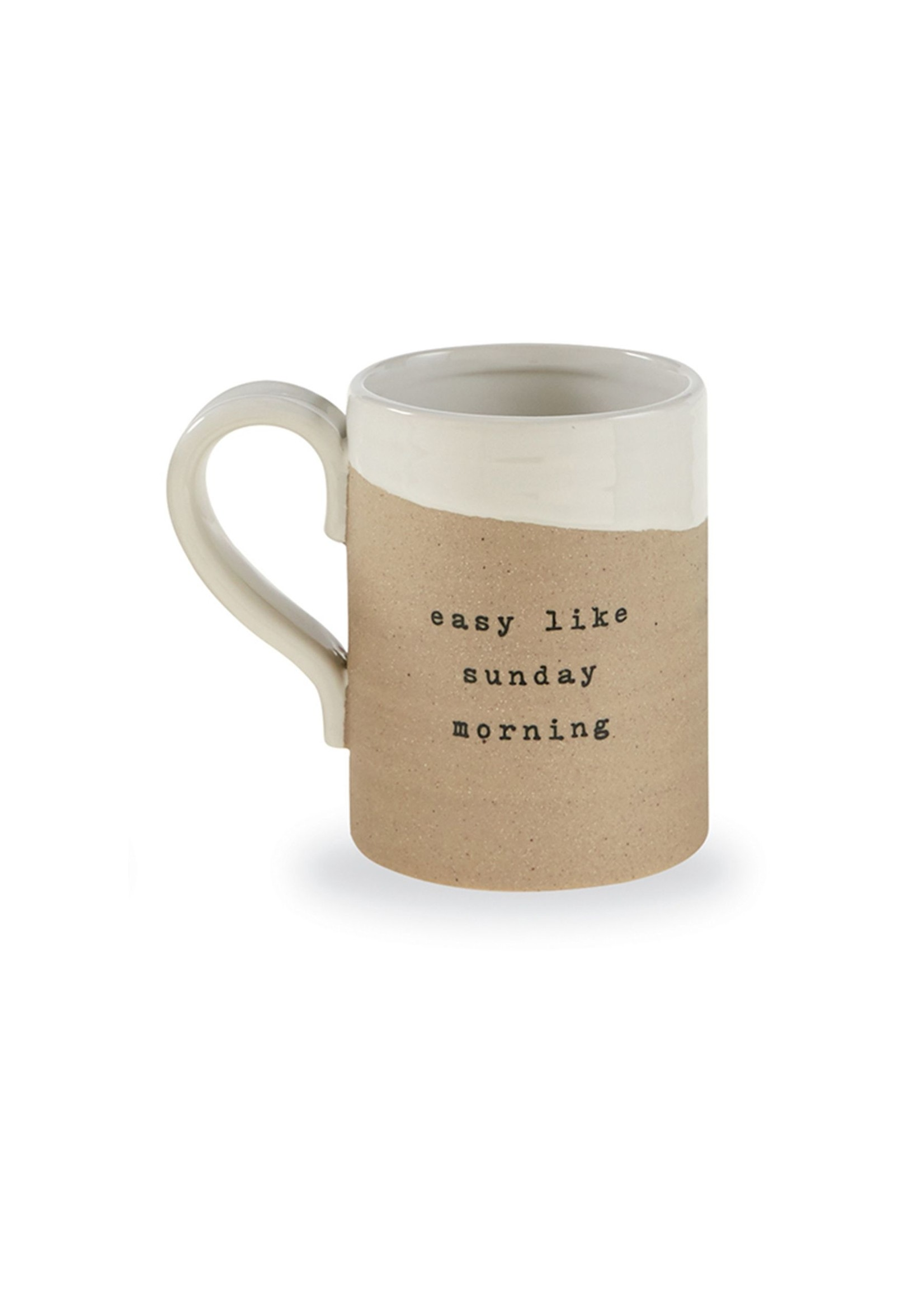 """""""Sunday Morning"""" Stoneware Mug"""