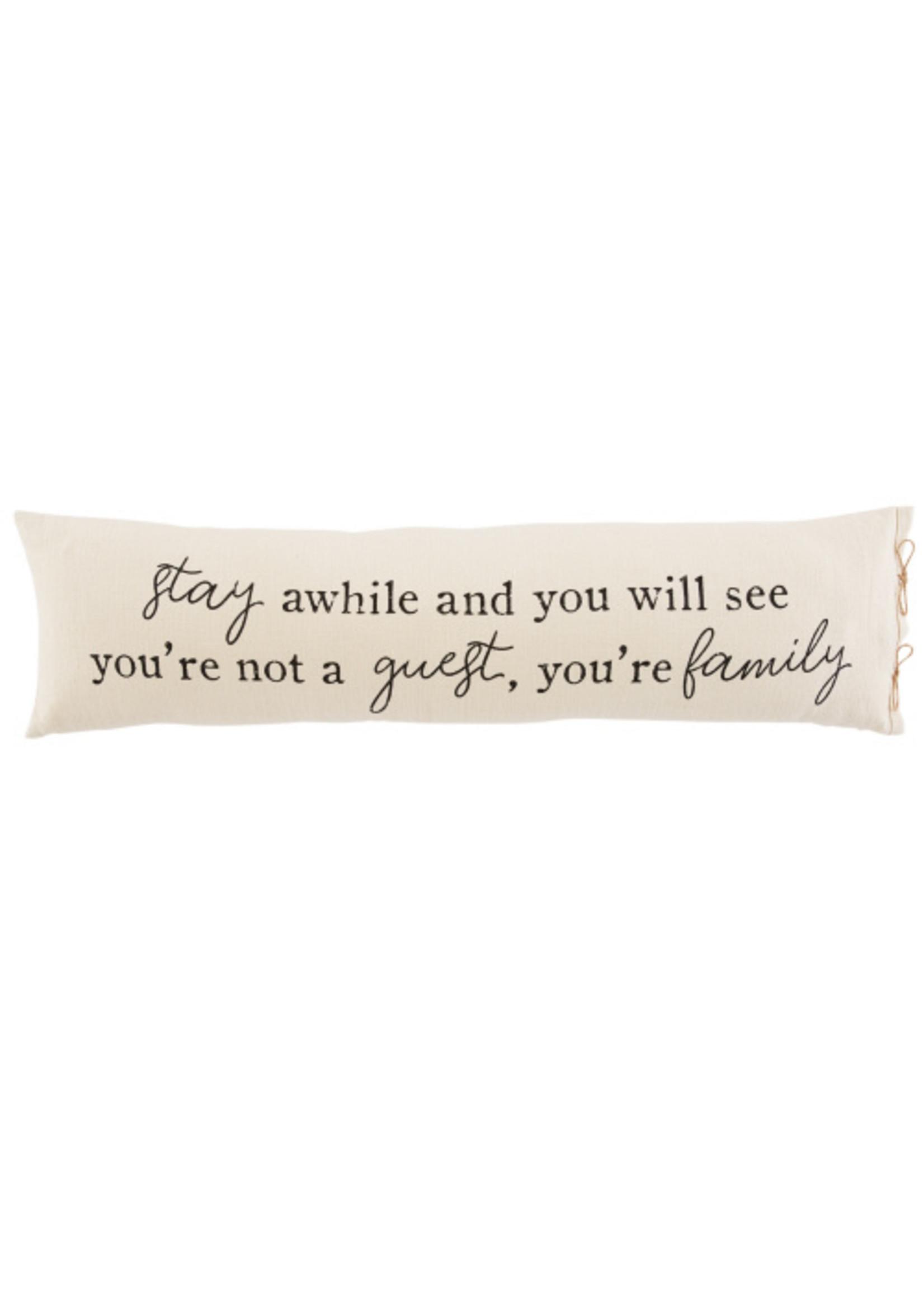 Guest Long Pillow