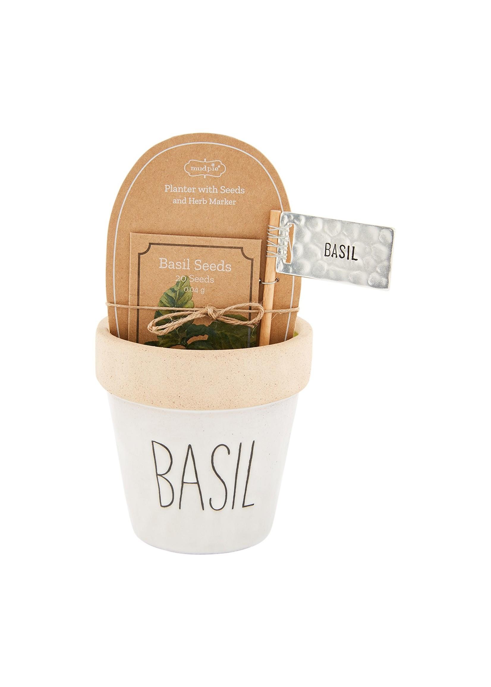 Basil Seed Pot