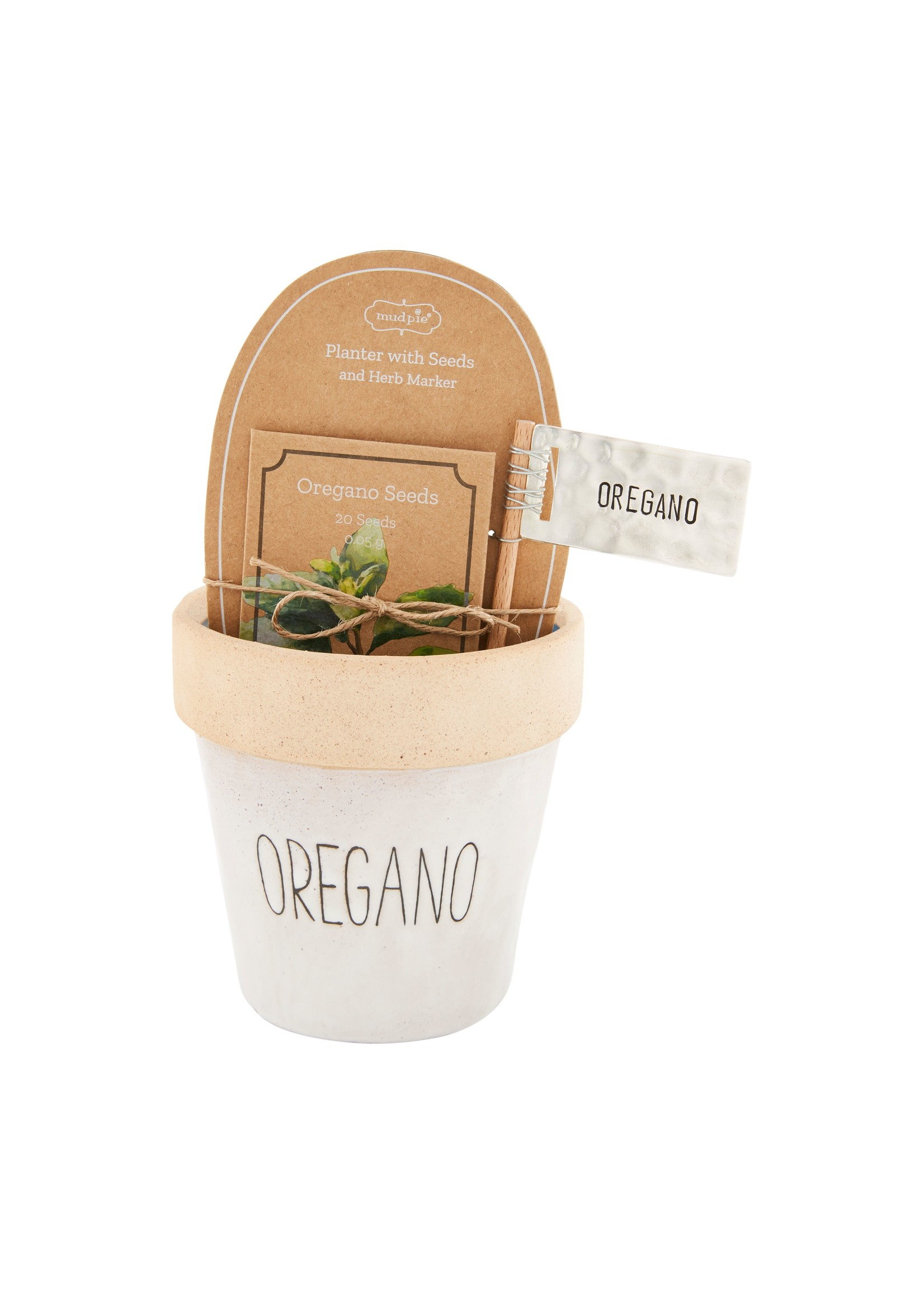 Oregano Seed Pot