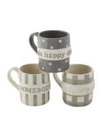 Mud Pie Happy Day Boxed Mug