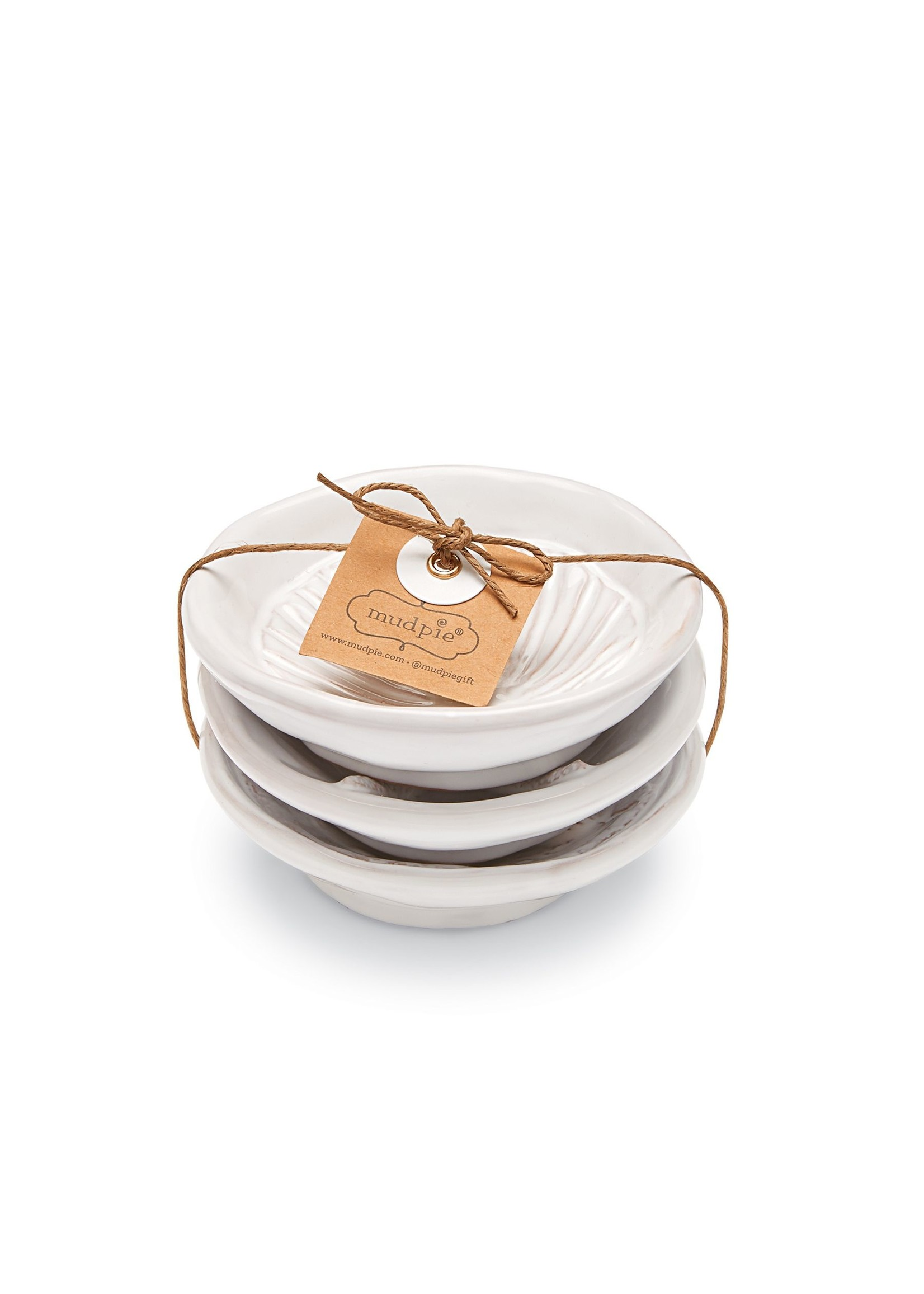Mud Pie Shell appy plate