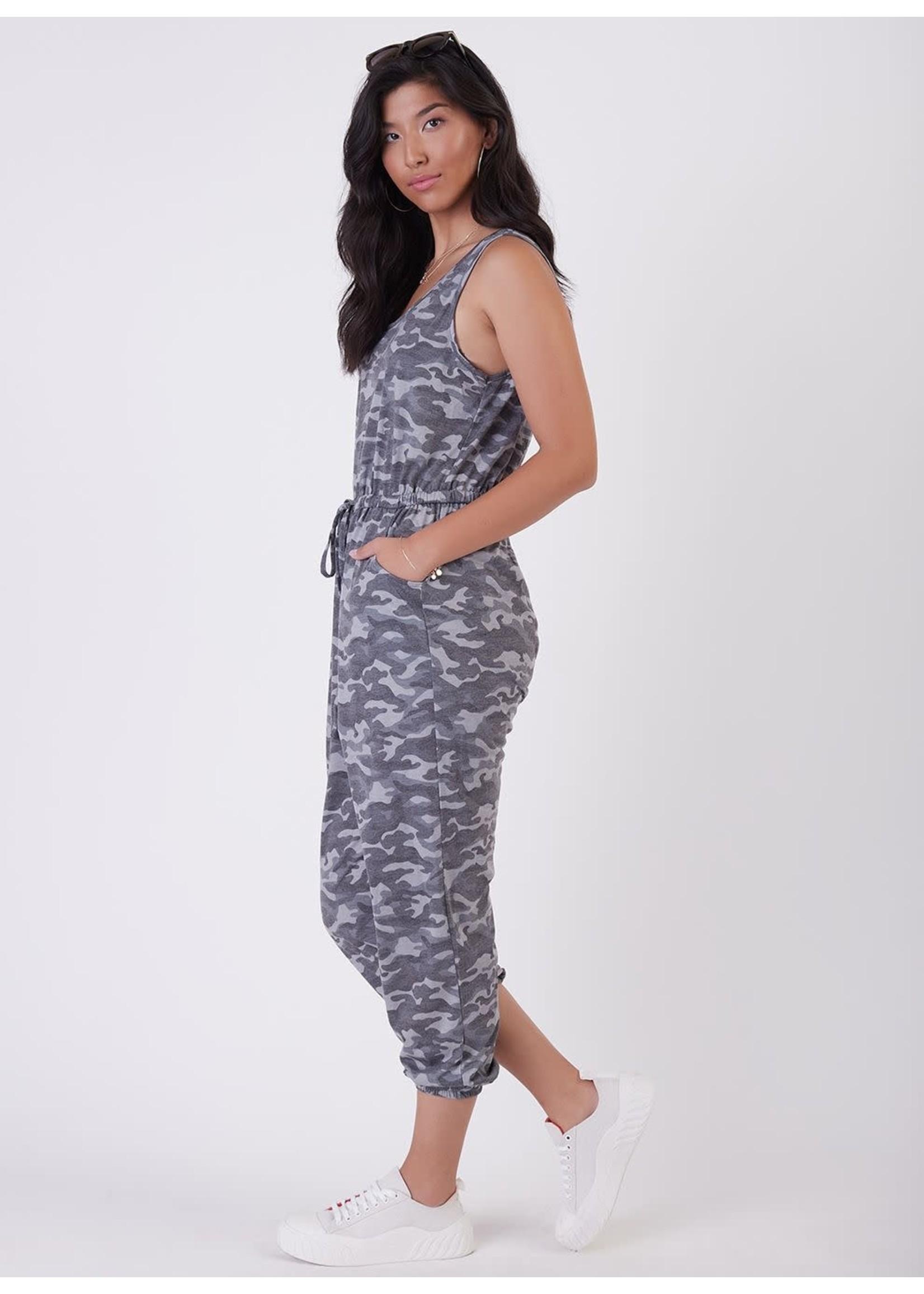 Camo Printed Jumpsuit