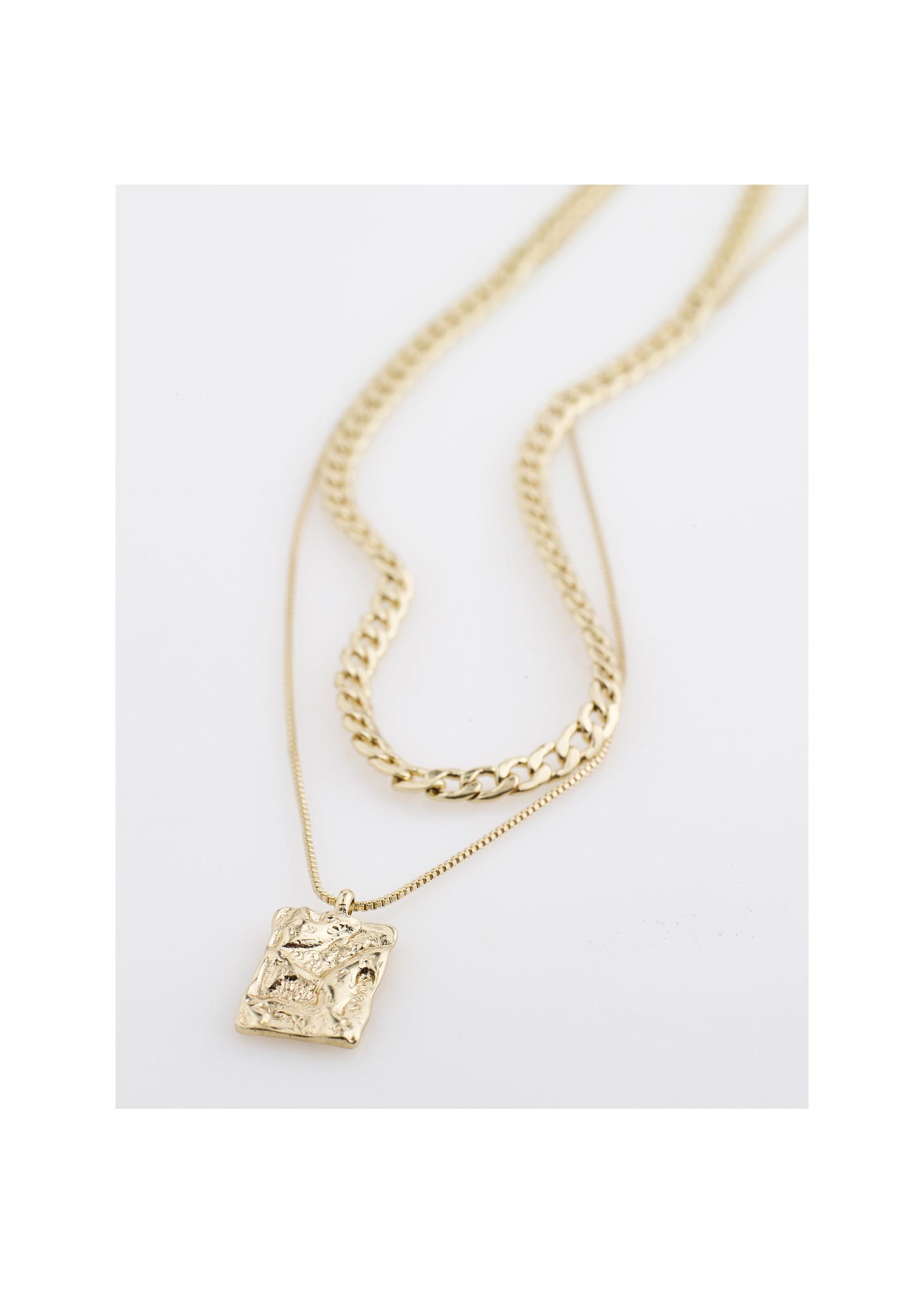 Pilgrim Jewellery Bathilda 2-in-1 Necklace - Gold
