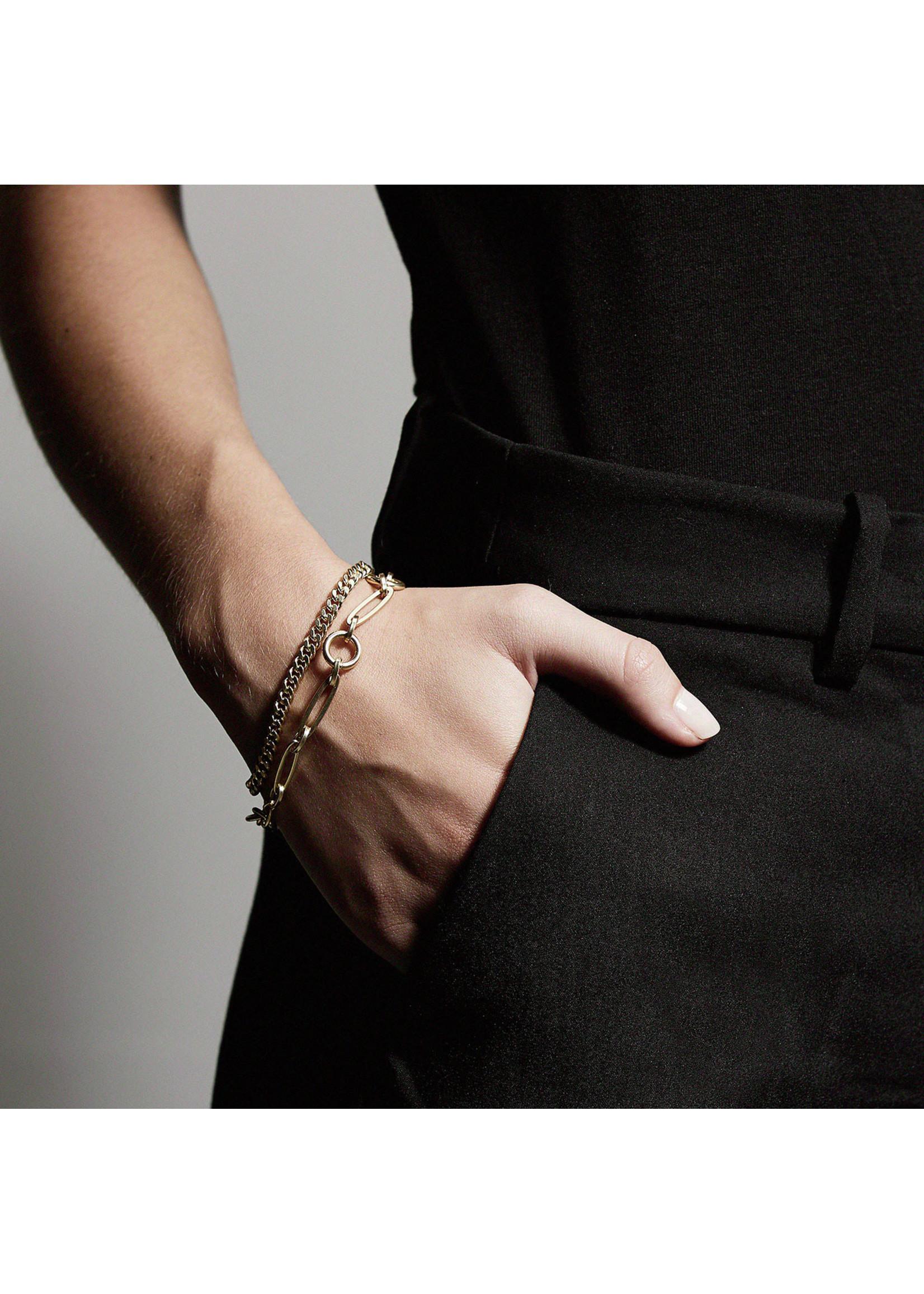 Pilgrim Jewellery Sensitivity Bracelet - Gold