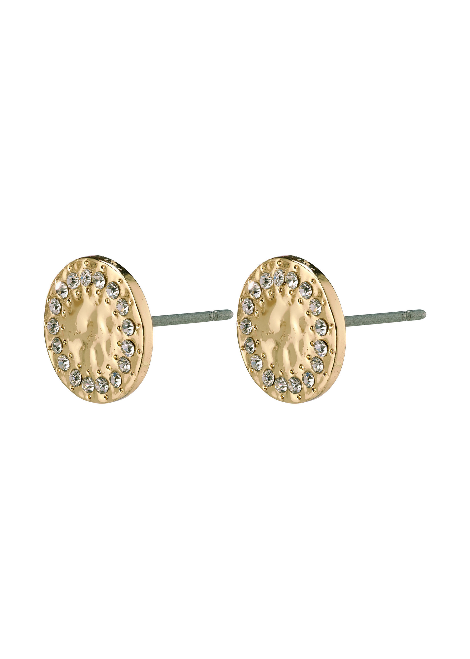 Compassion Stud Earrings - Gold