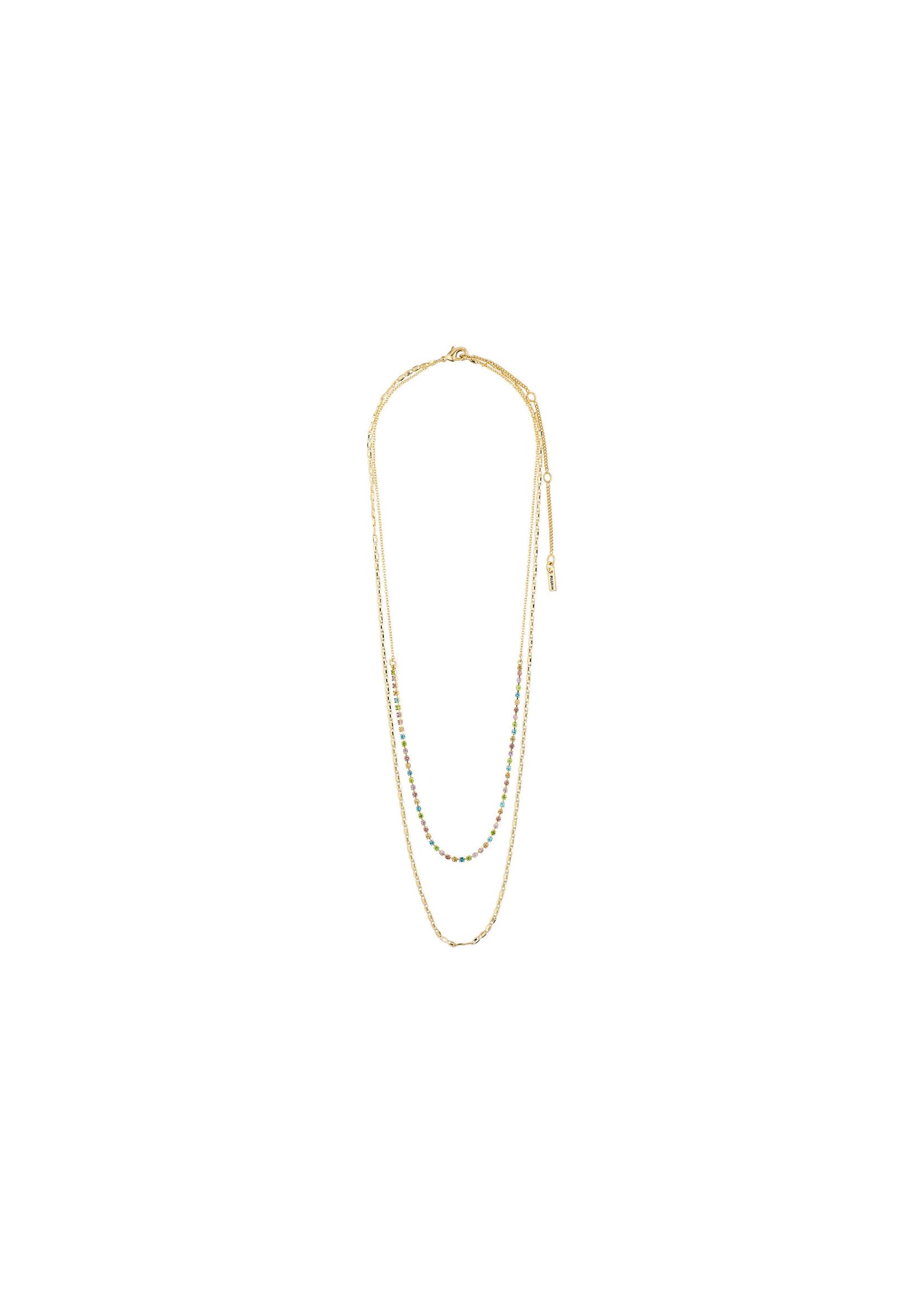 Cherished Layered Necklace - Gold