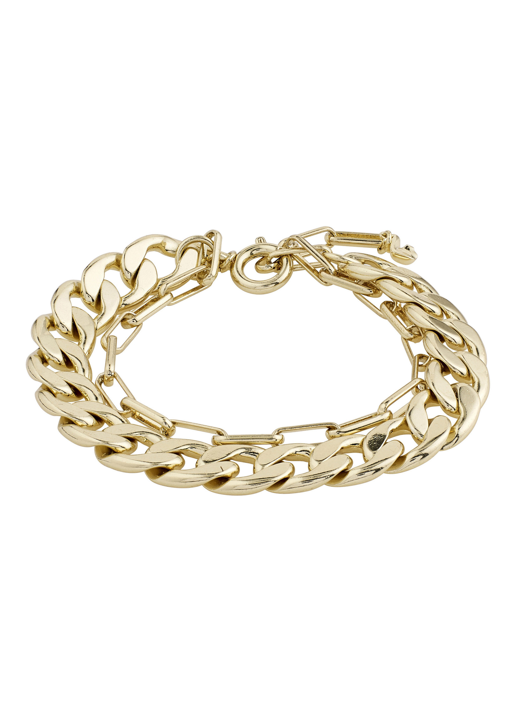 Layered Compass Bracelet - Gold