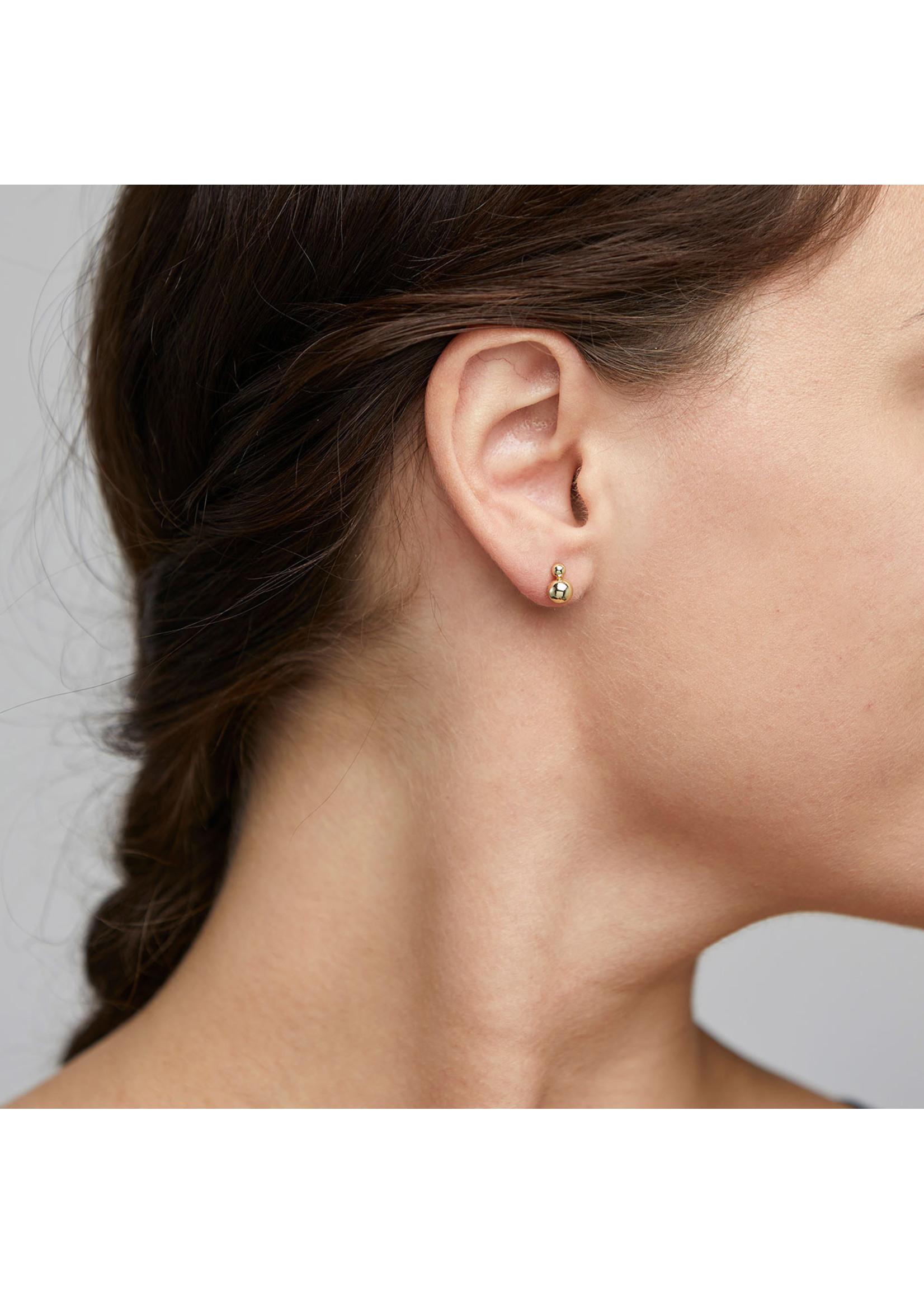 Pilgrim Jewellery Gala Stud Earrings - Gold