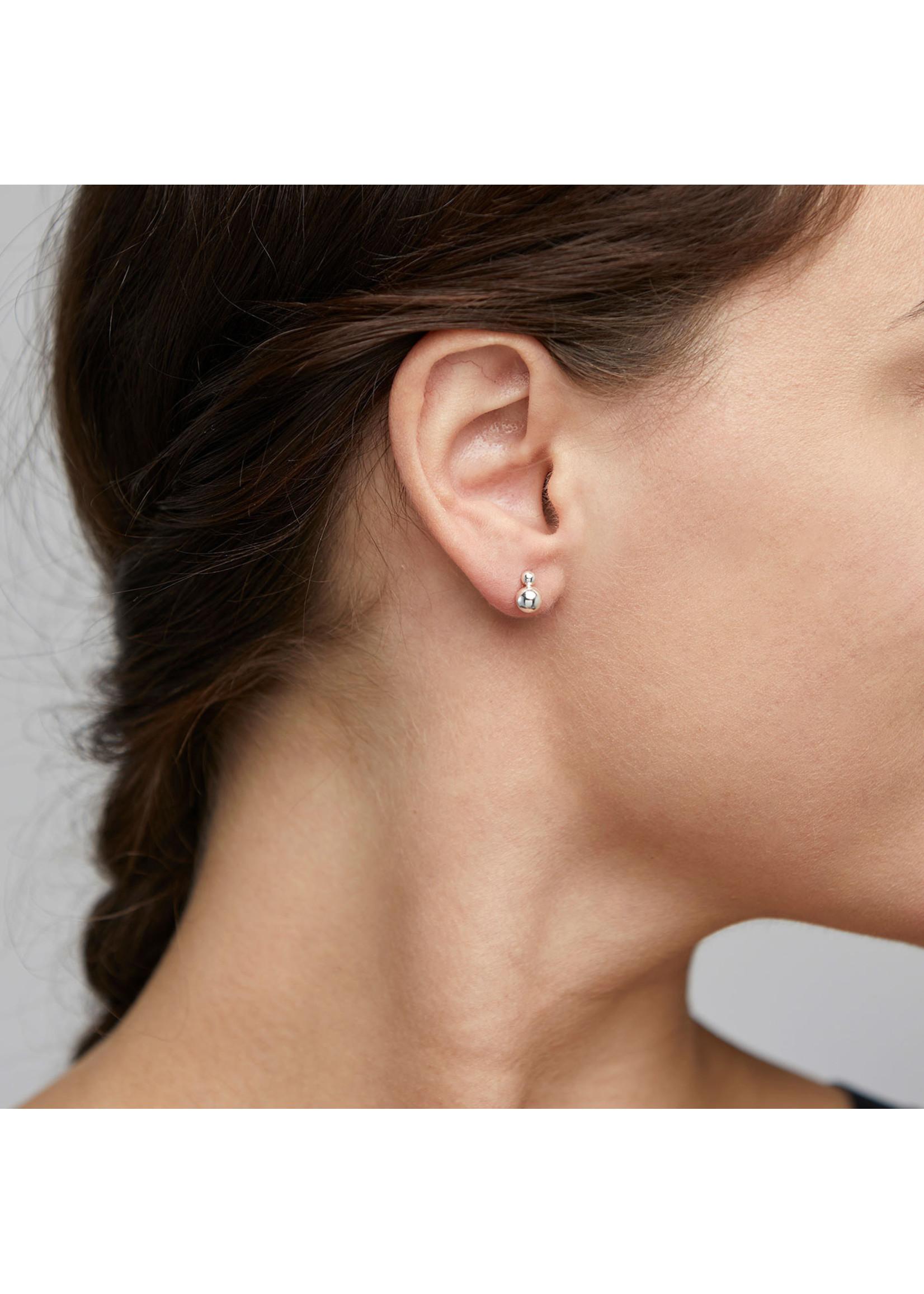 Gala Stud Earrings - Silver