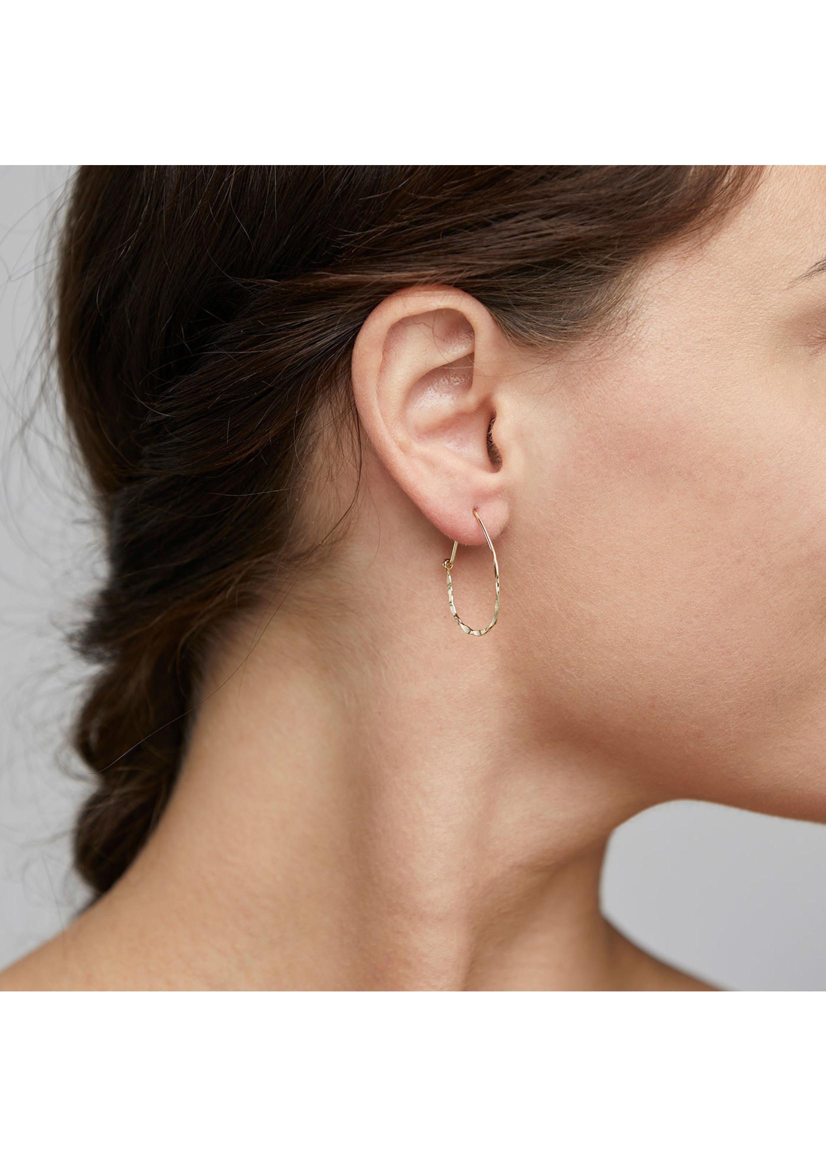 Pilgrim Jewellery Olena Earrings - Gold