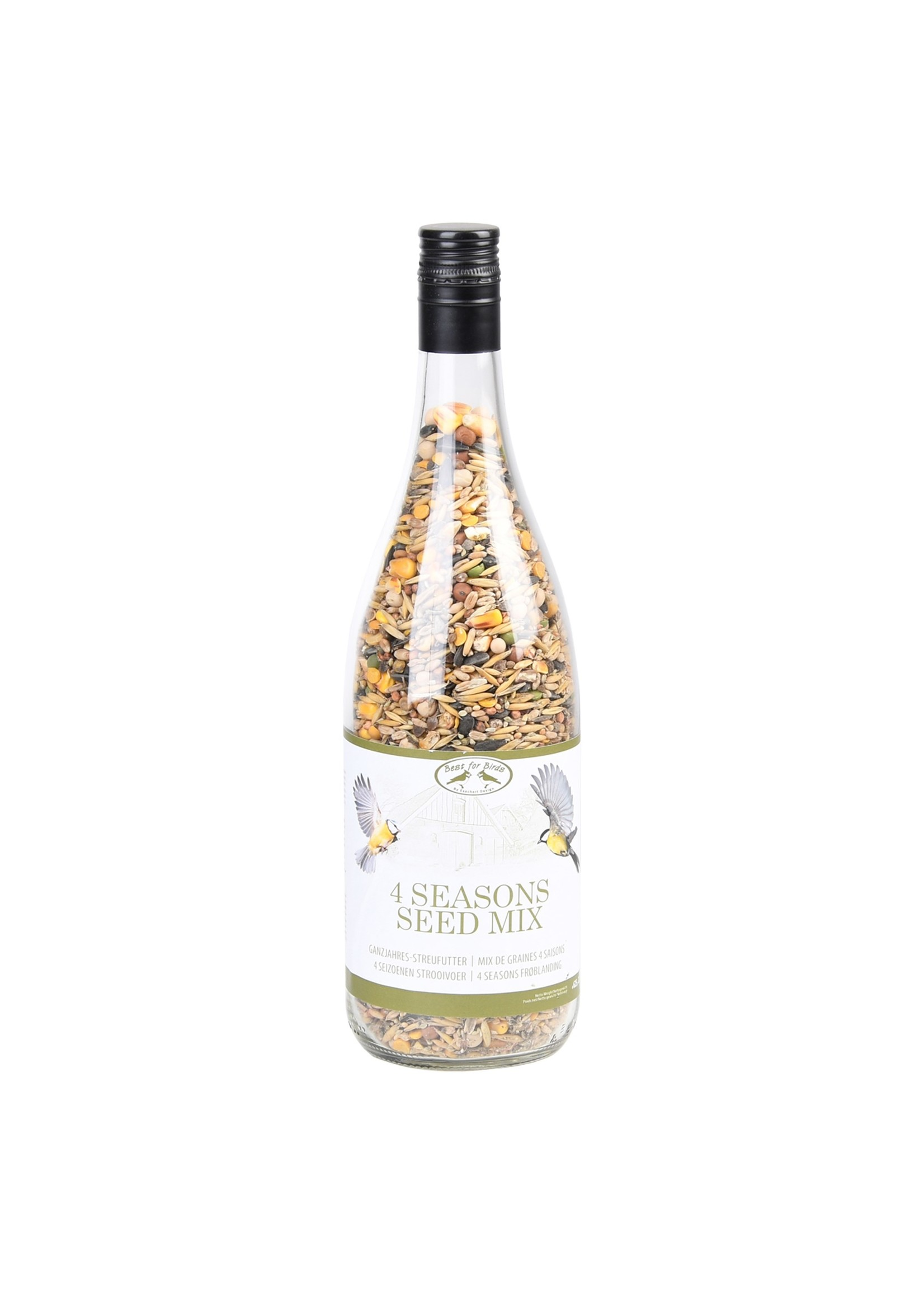 Seed Mix in Winebottle