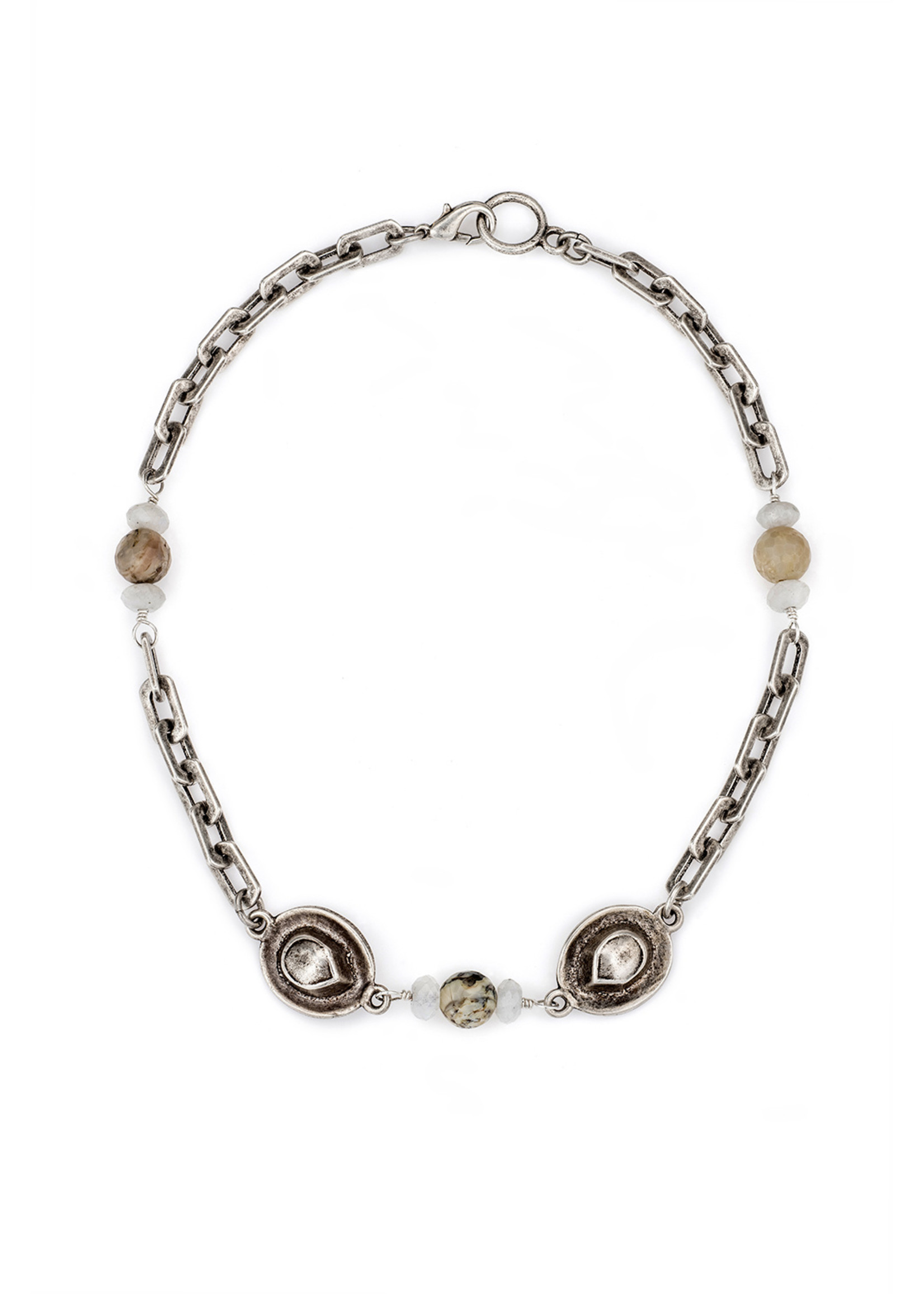 Honfleur Chain with La Lune Mix and Cowgirl Hats