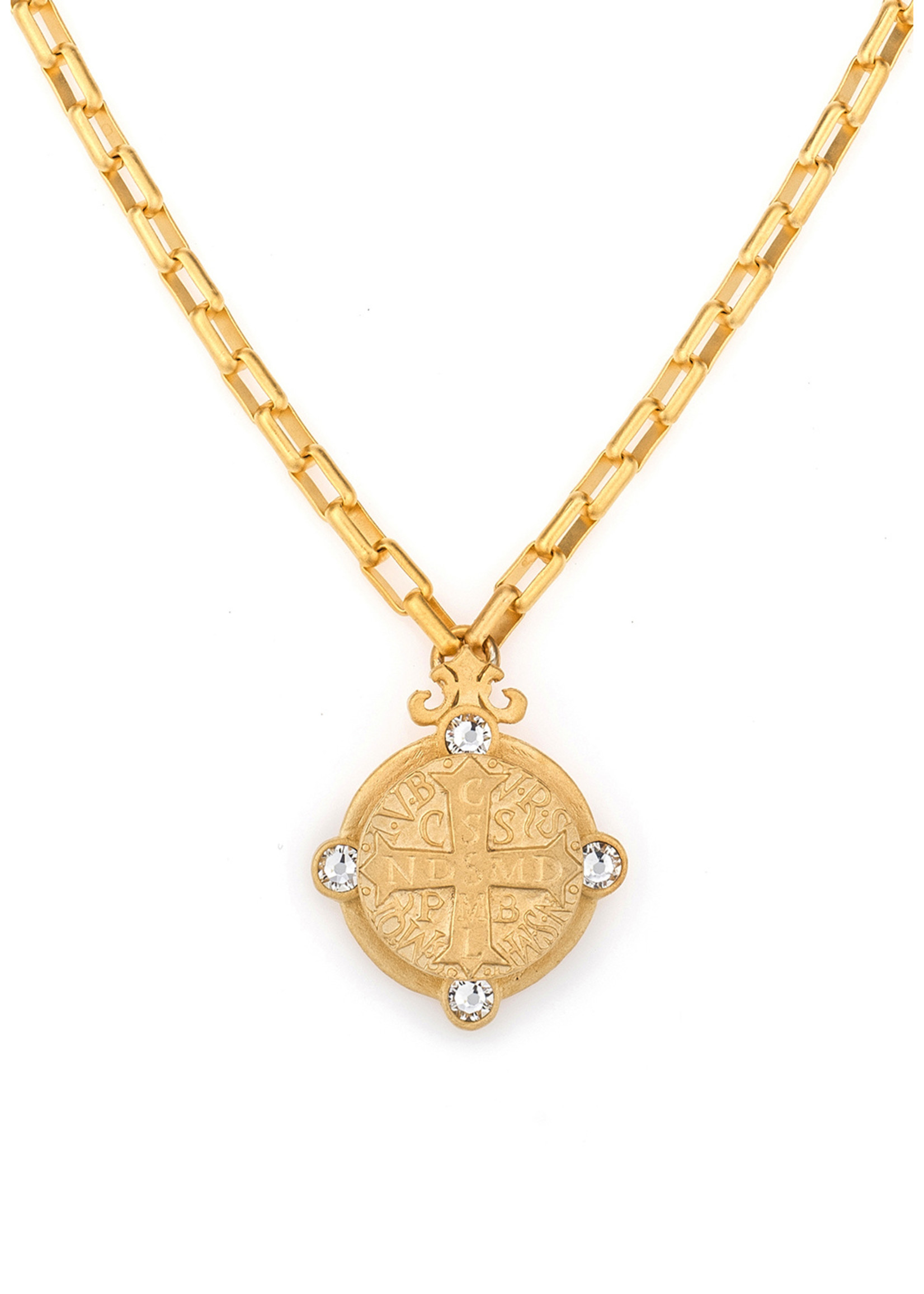 French Kande Loire Arles Necklace Gold