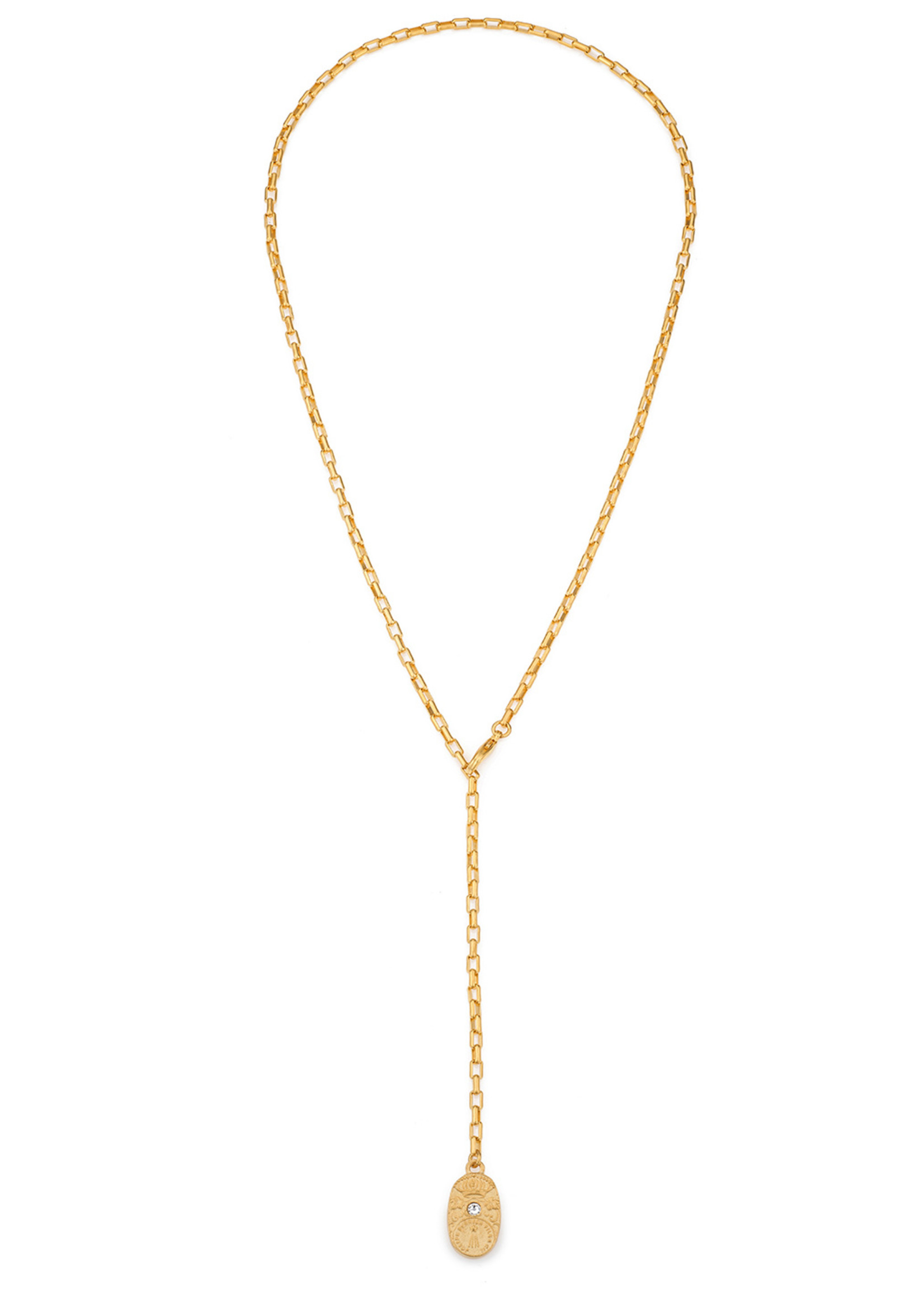 French Kande Loire Loriat Necklace Gold