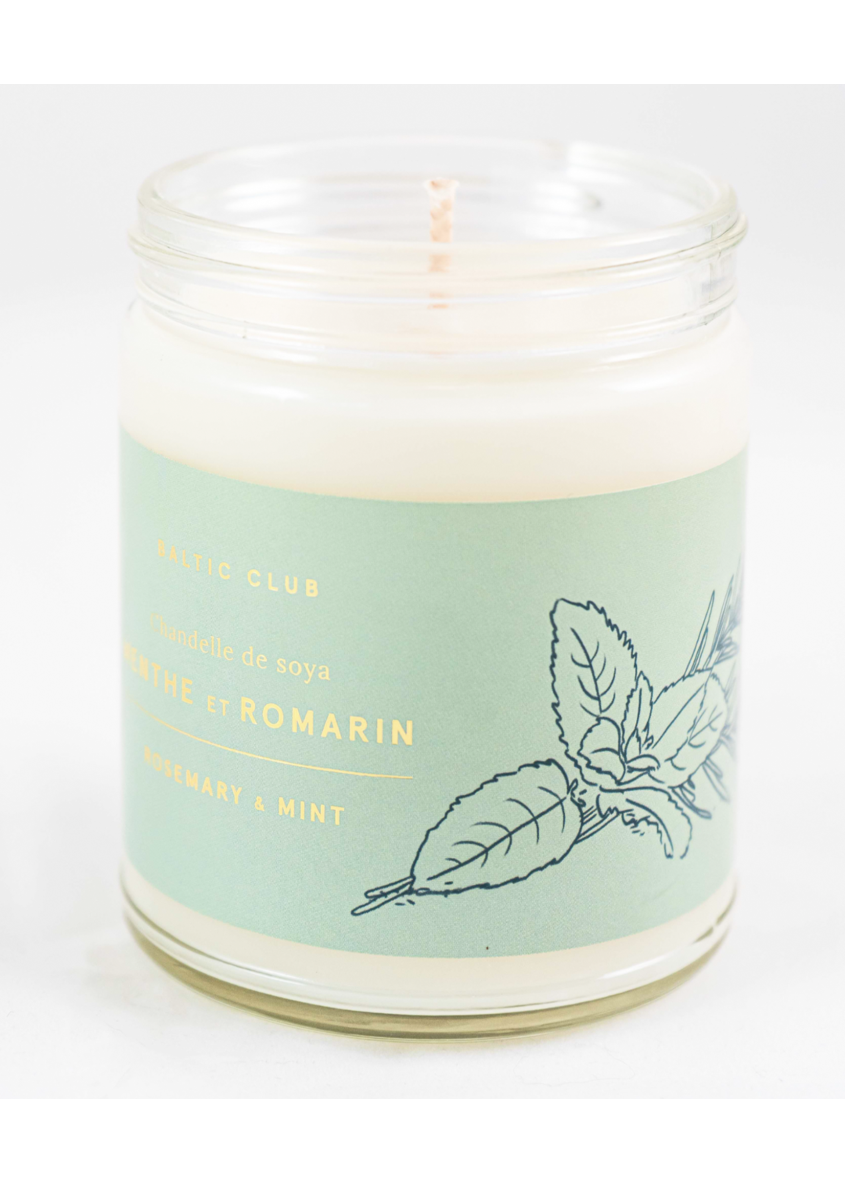 Baltic Club Mint and Rosemary Candle
