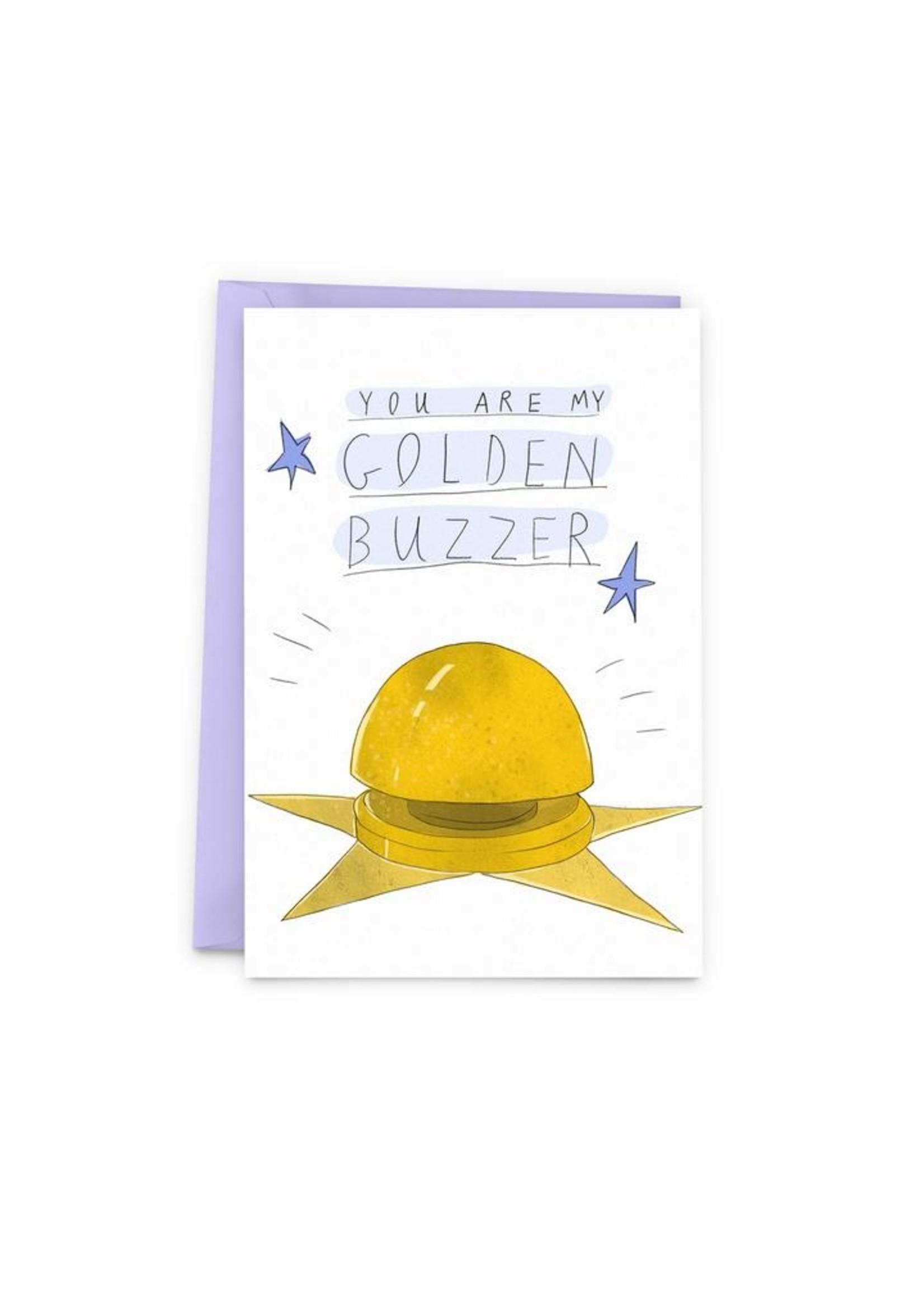 Golden Buzzer Card