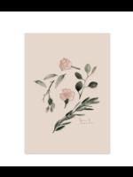 Baltic Club Vegetal composition (Le temps) Art Print