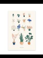 Baltic Club House Plants Art Print