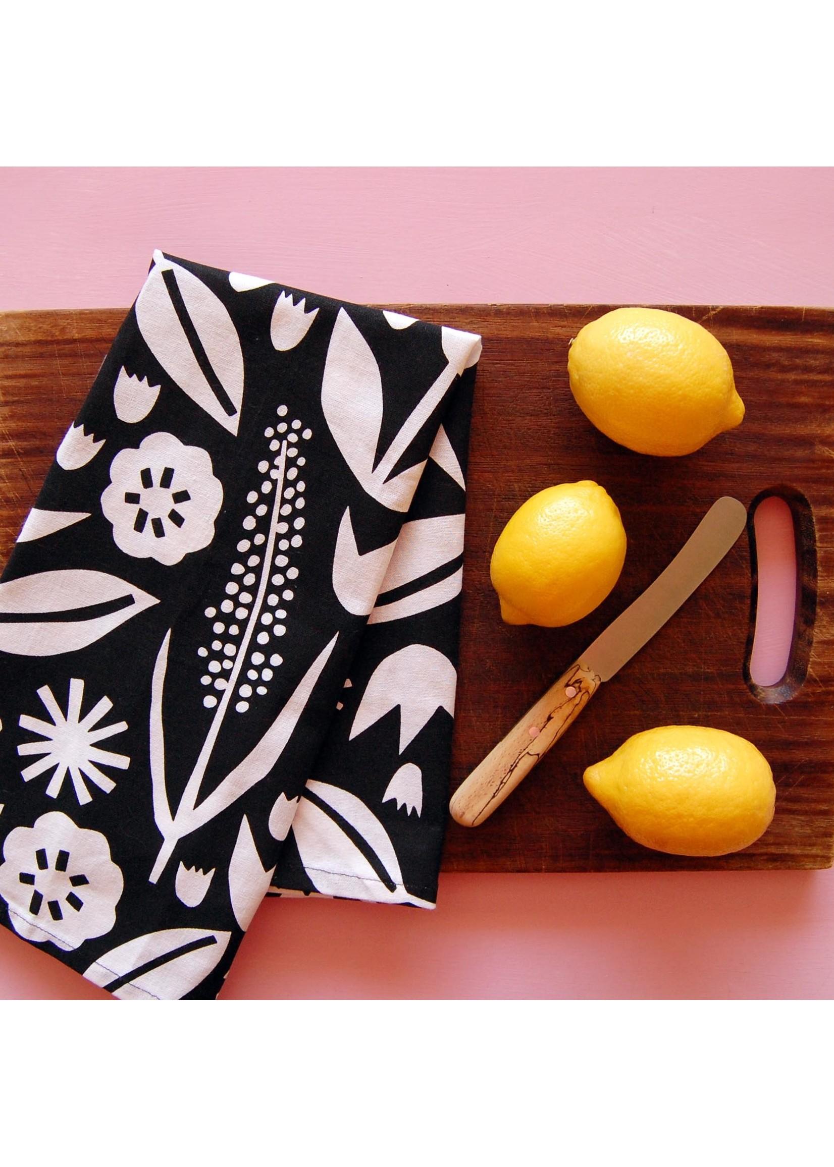 June Floral Tea Towel