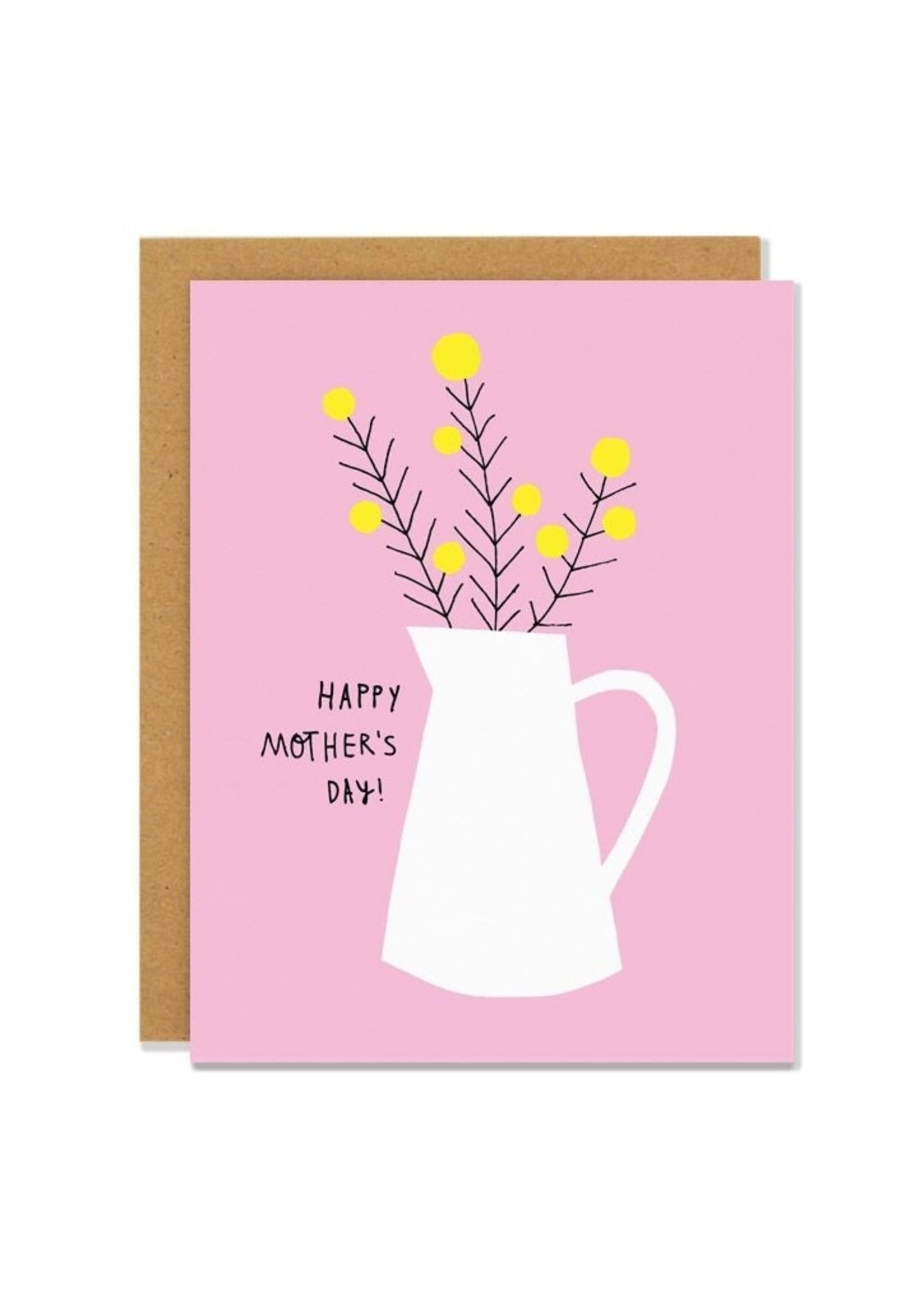 Badger & Burke Mothers Day Jug Card