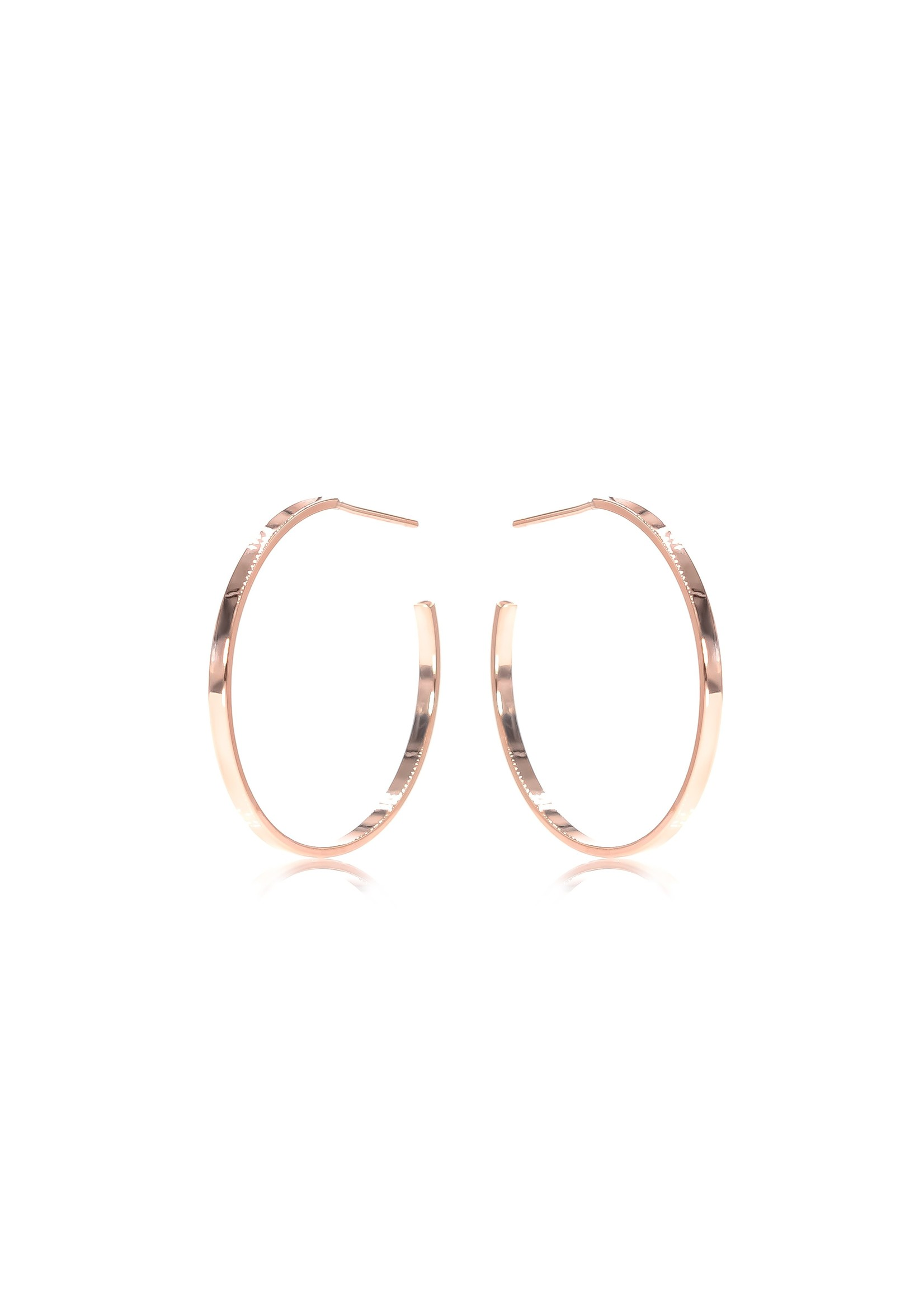Classic Hoops - Rose Gold