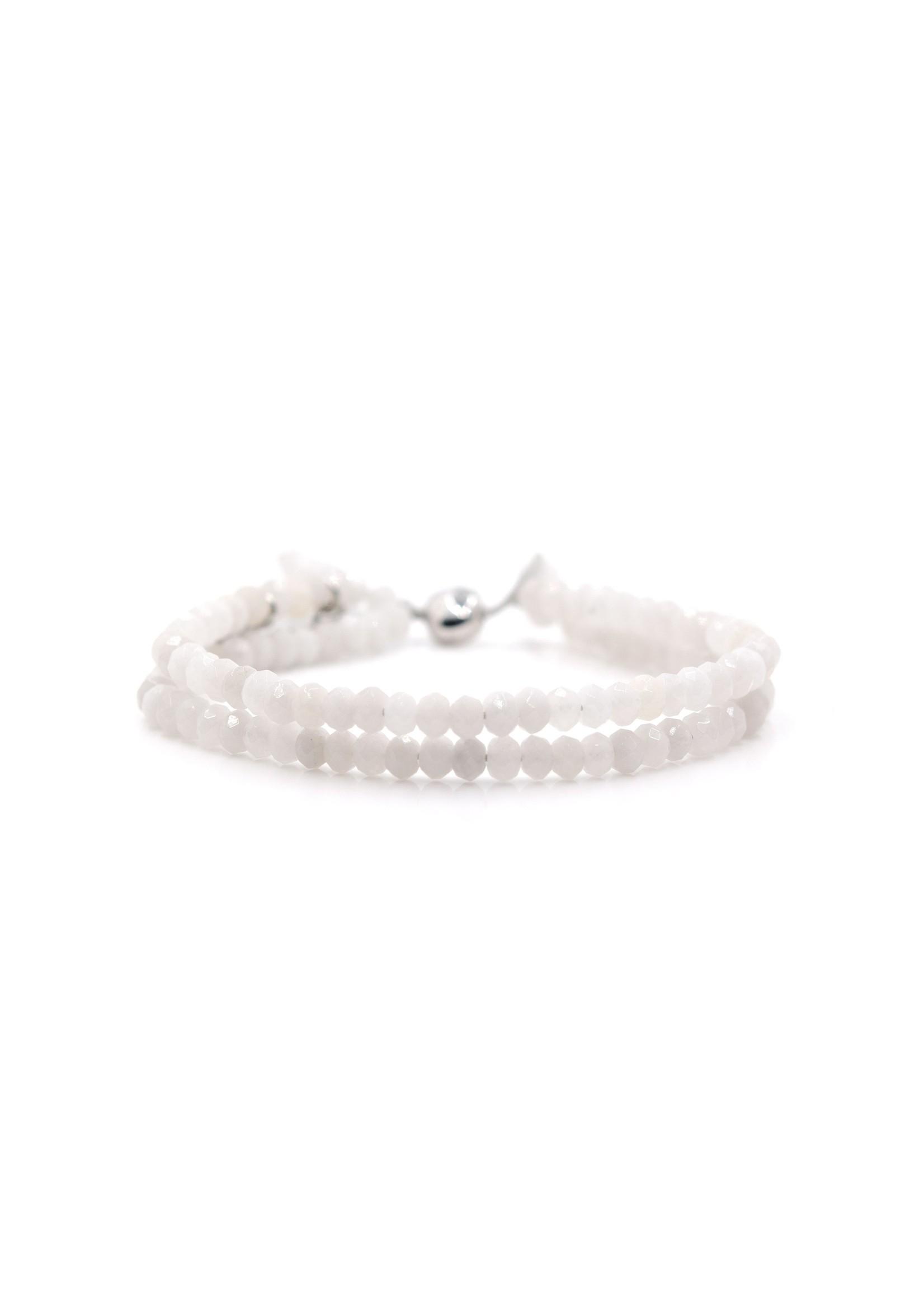 Eliasz and Ella Ice Fog Doublestrand Bangin Bracelet