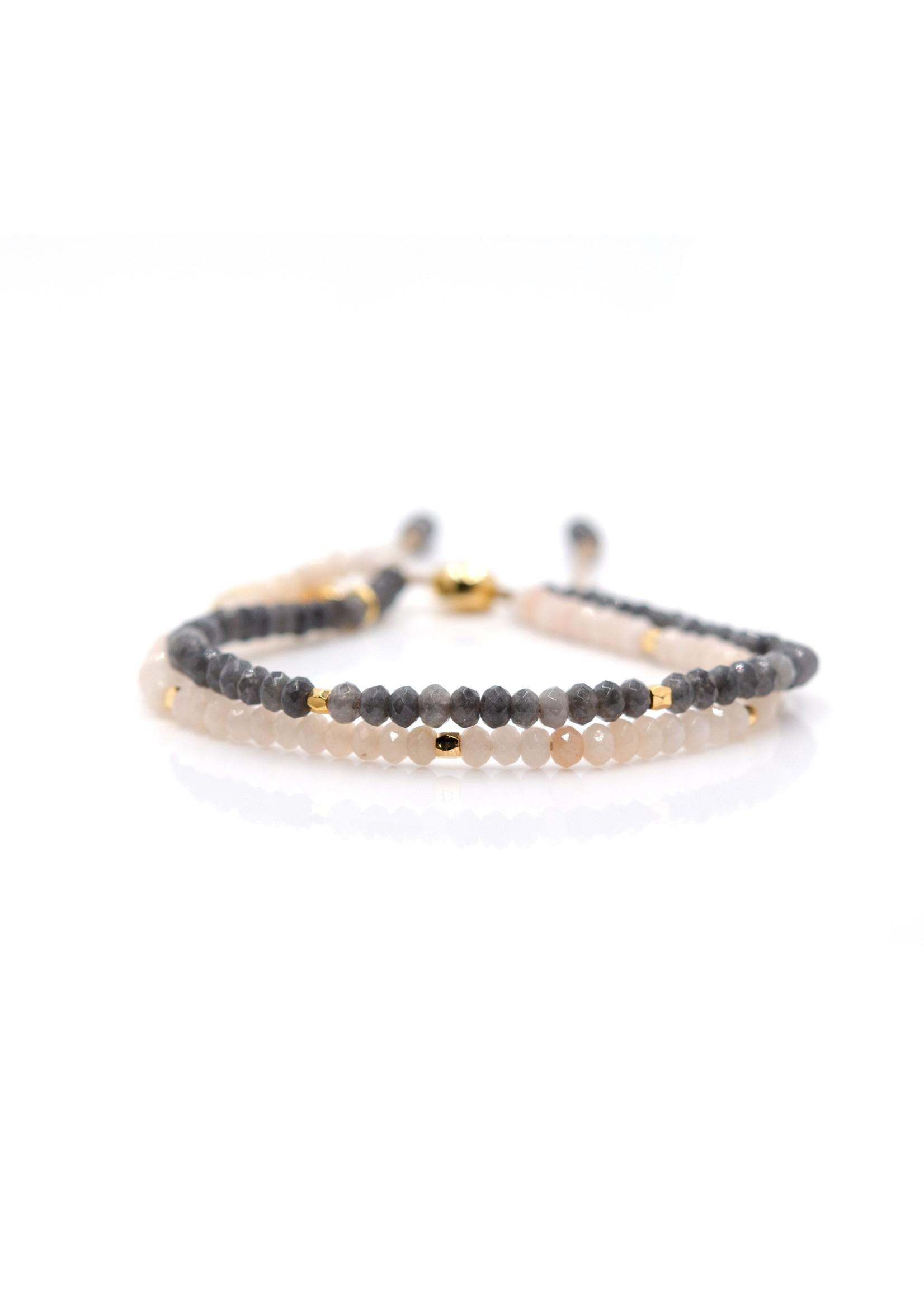 Horizon Doublestrand Bangin Bracelet