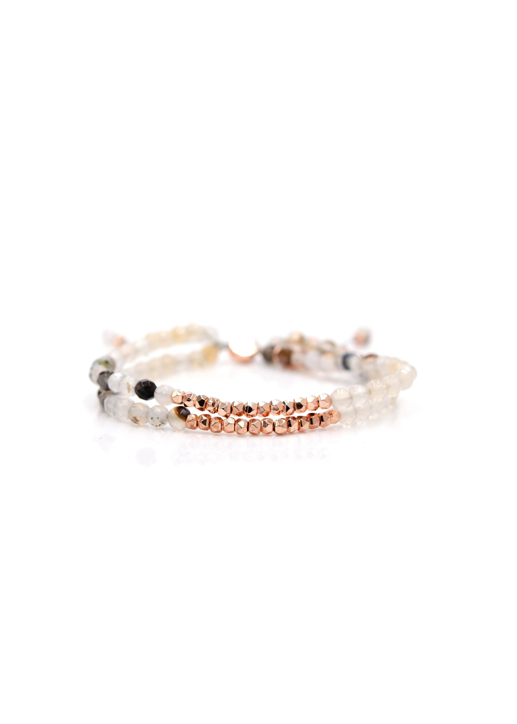 Ocean Eye Doublestrand Bangin Bracelet