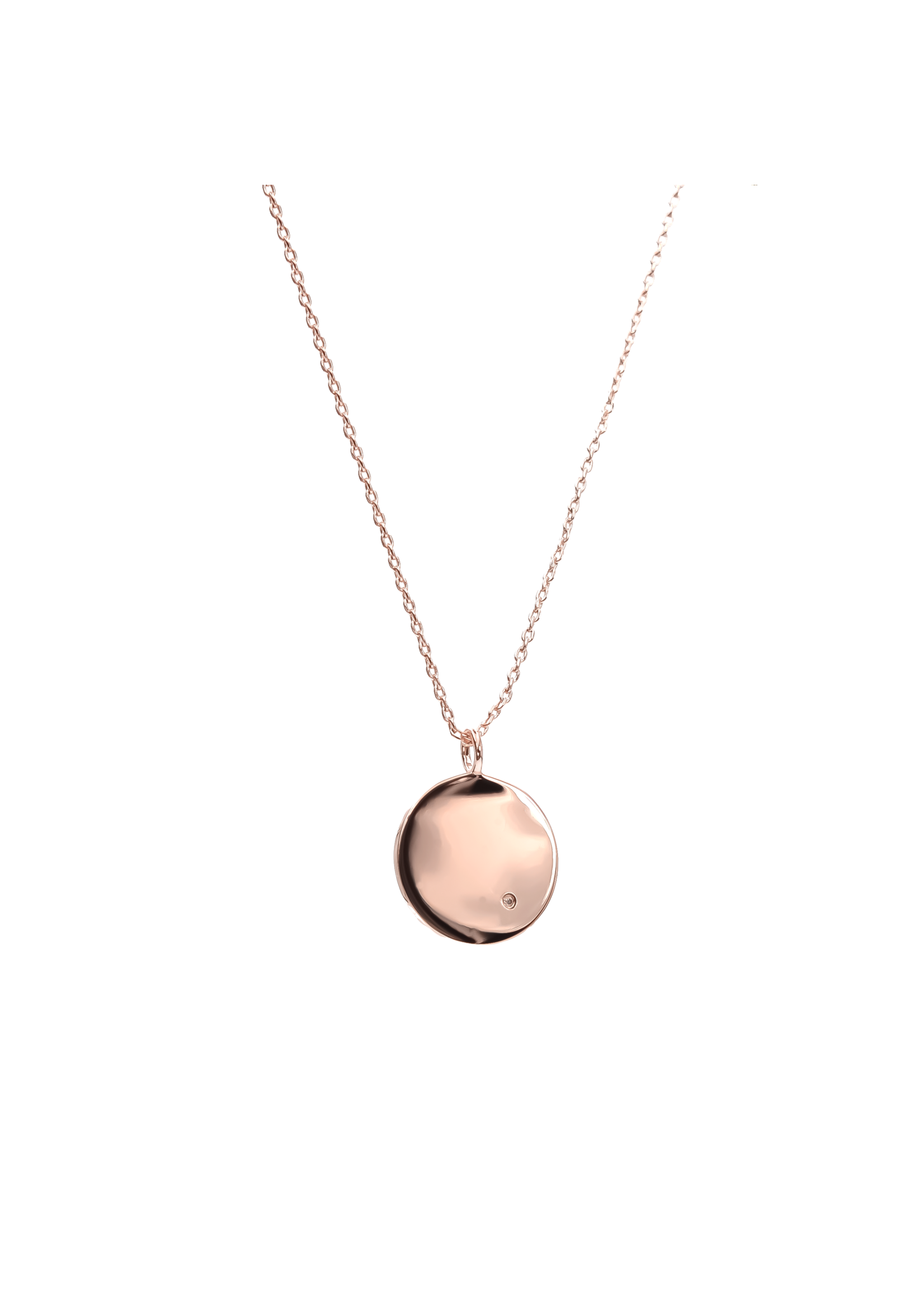 D'Amour Necklace - Rose Gold