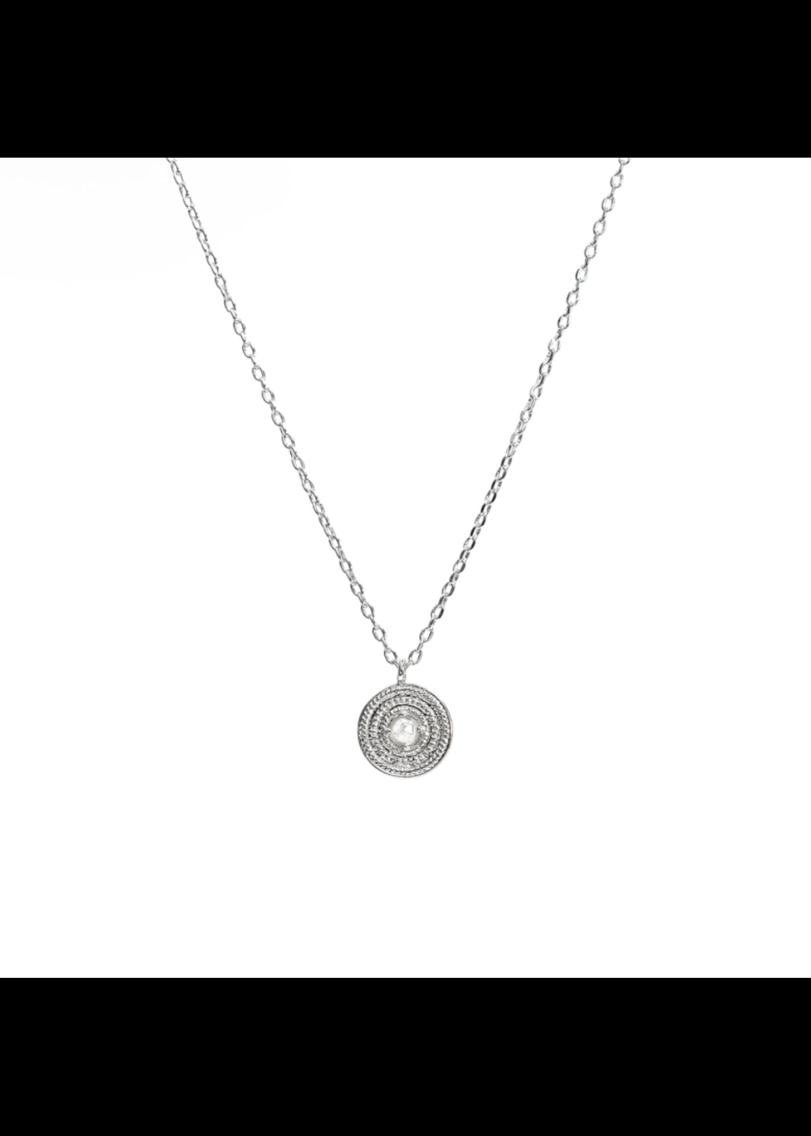Soleil Necklace - Silver