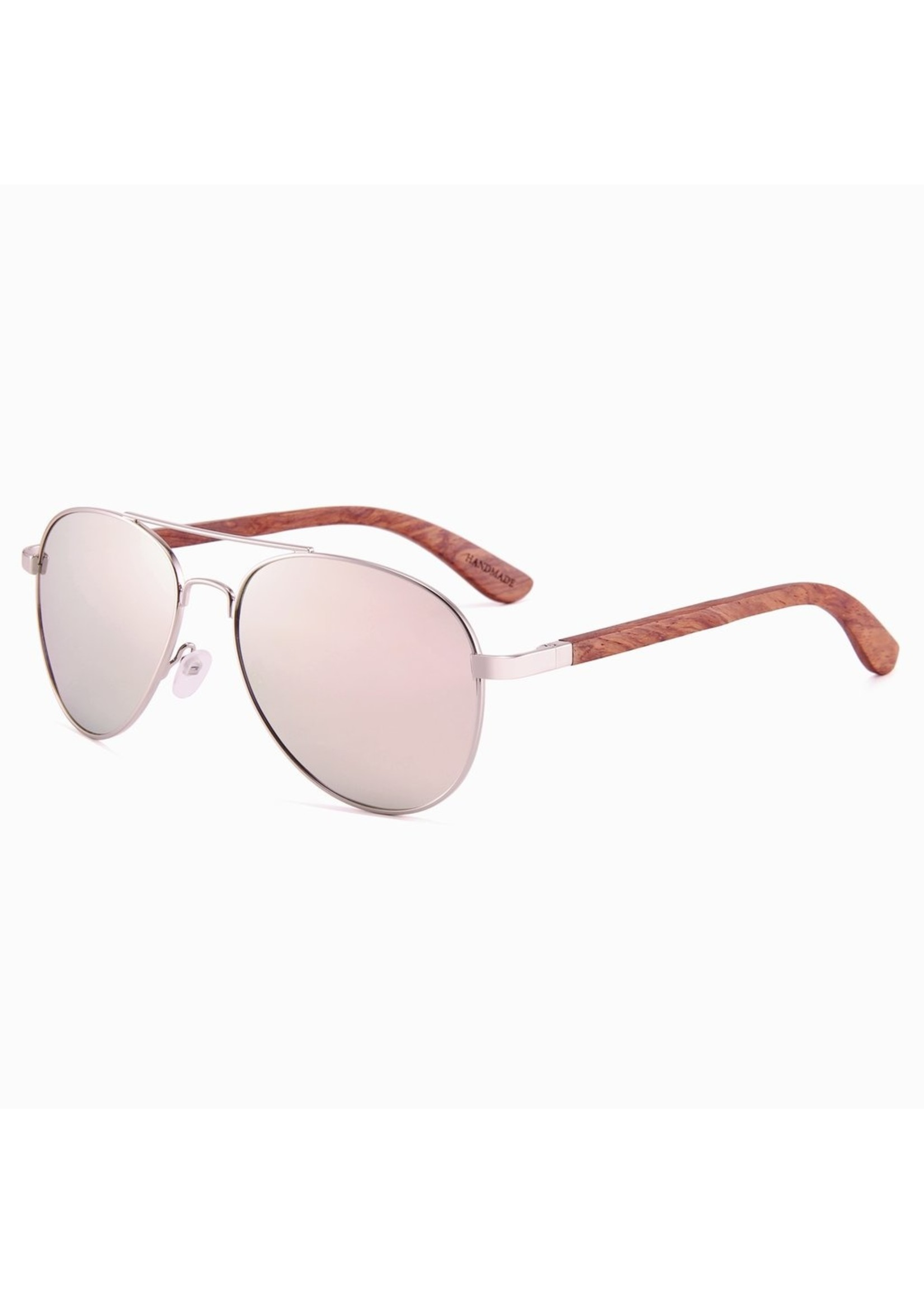 Kuma Sunglasses Hawaii - Mirrored Rose Gold