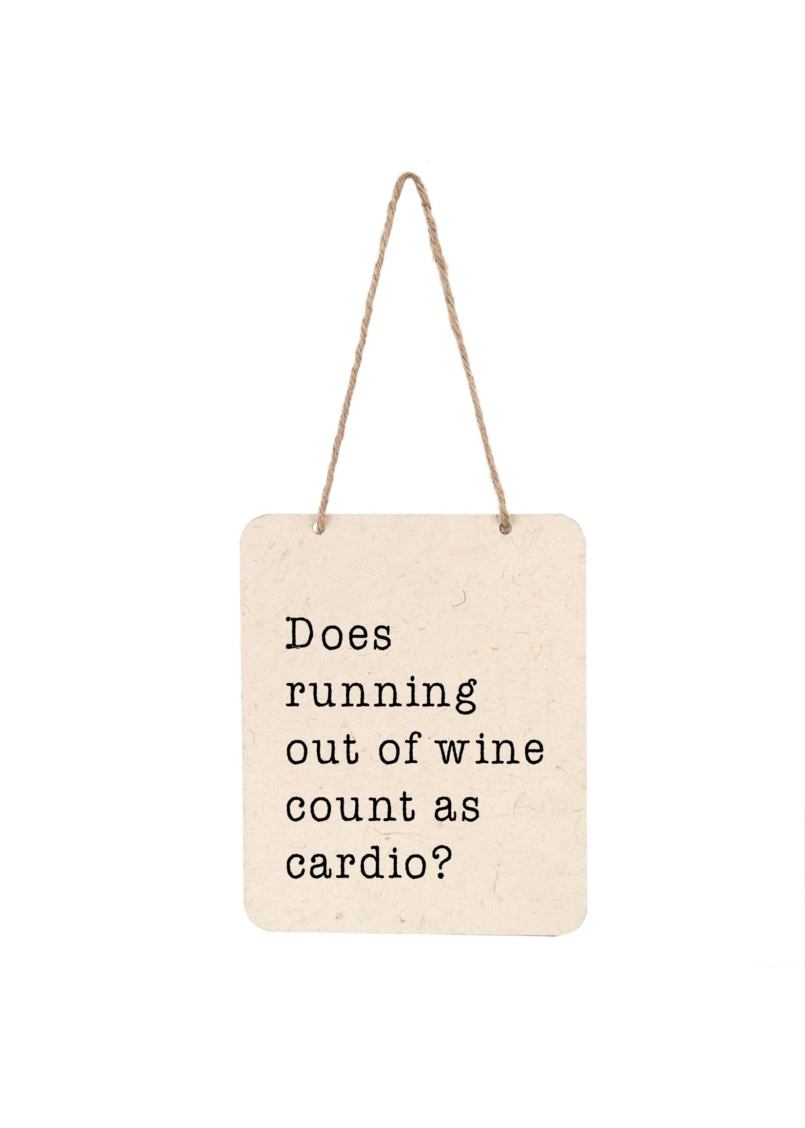 Wine Cardio Sign