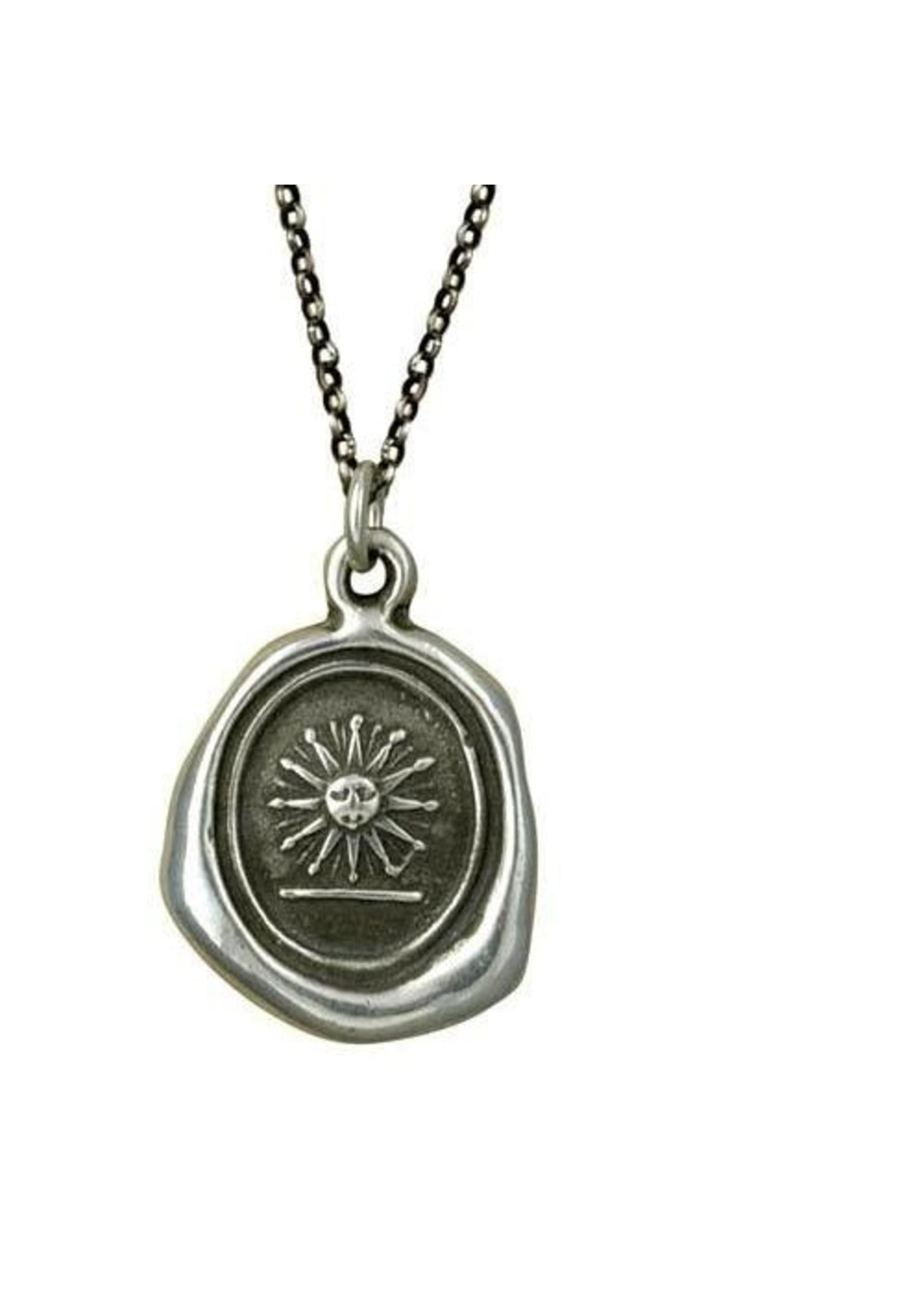Glory Sun Crest Necklace