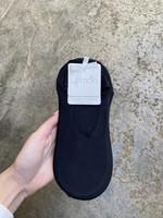 Lemon Loungewear 3 Pack Liner Sock Black