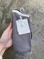 Lemon Loungewear Recycled Crew Sock Charcoal