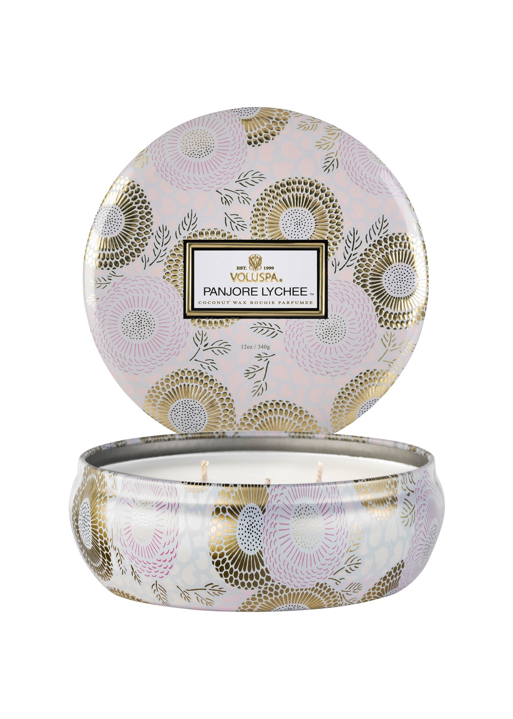 Panjore Lychee 3 Wick Tin Candle