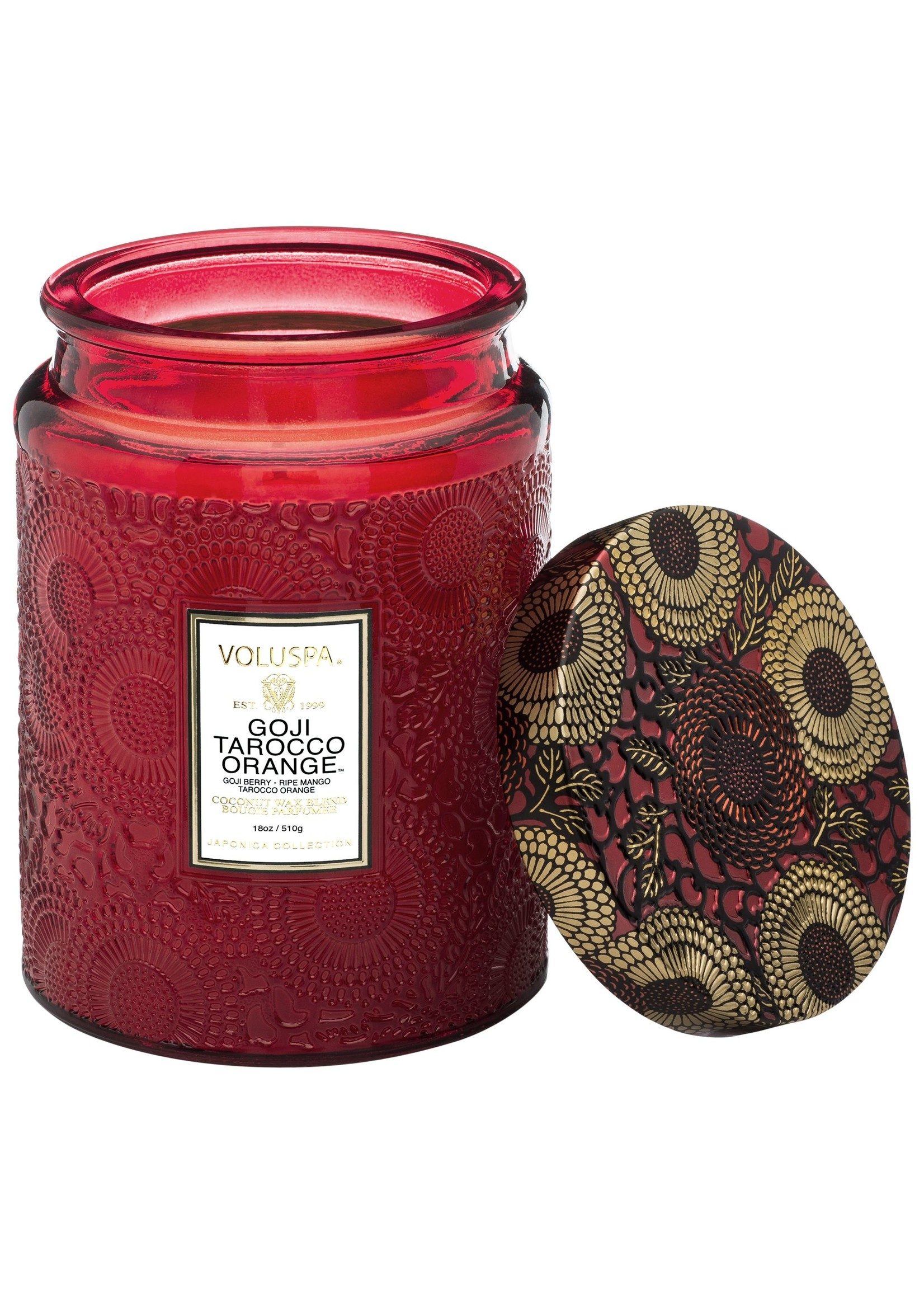 Voluspa Goji & Tarocco Orange Large Jar Candle