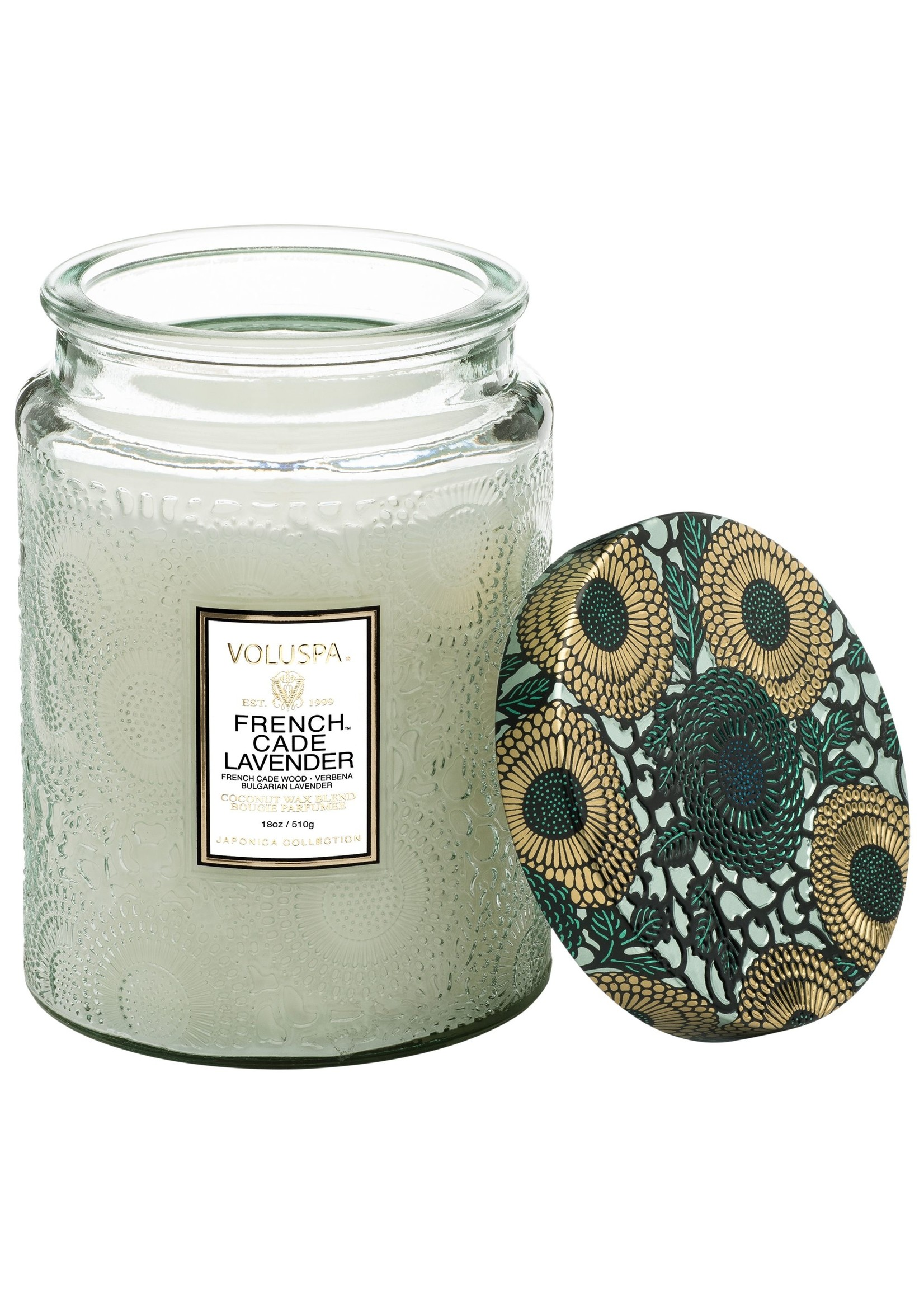Voluspa French Cade & Lavender Large Jar Candle