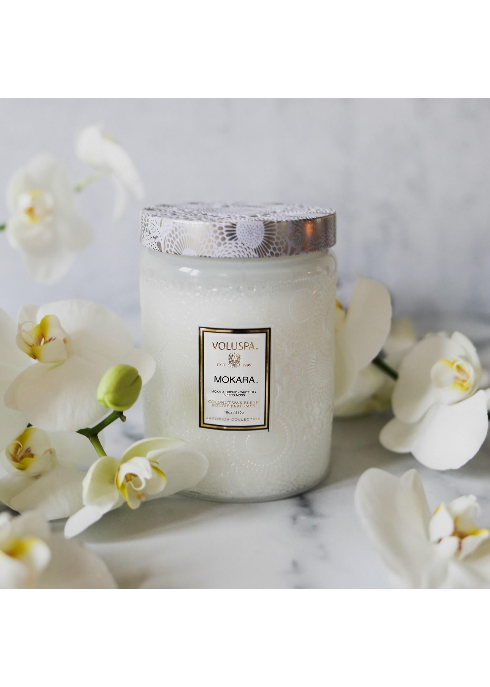 Voluspa Mokara Large Jar Candle