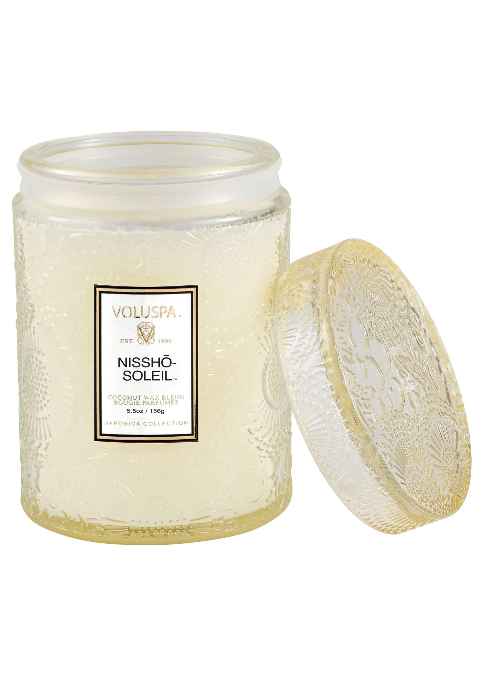 Nissho Soleil small jar candle
