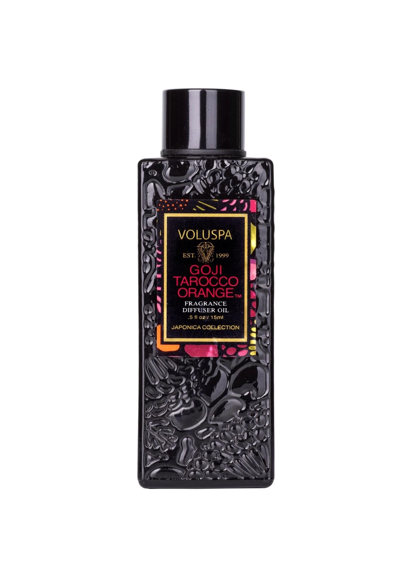 Voluspa Goji Tarocco Orange Ultra Sonic Diffuser Fragrance Oil