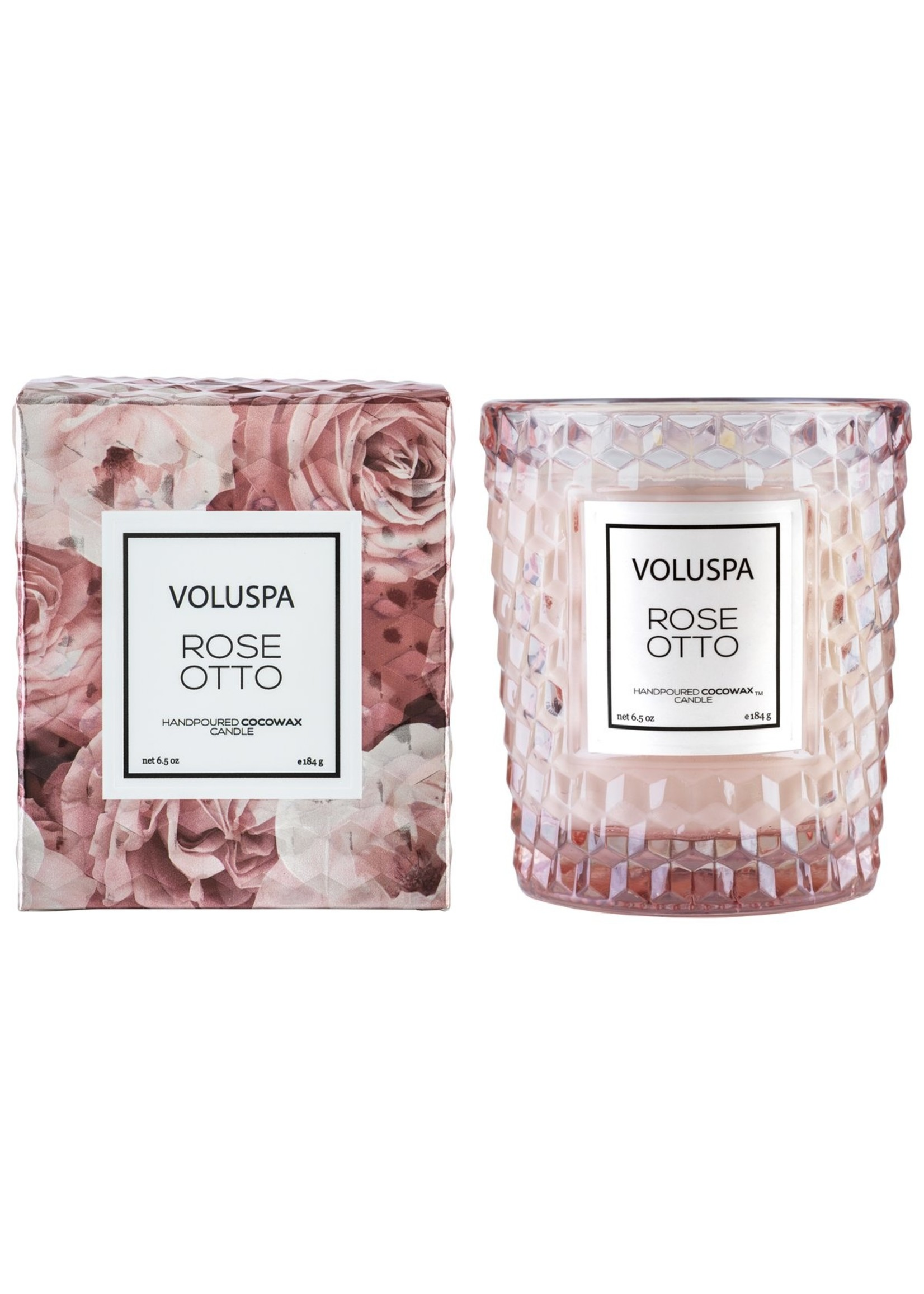 Voluspa Rose Otto Classic Candle