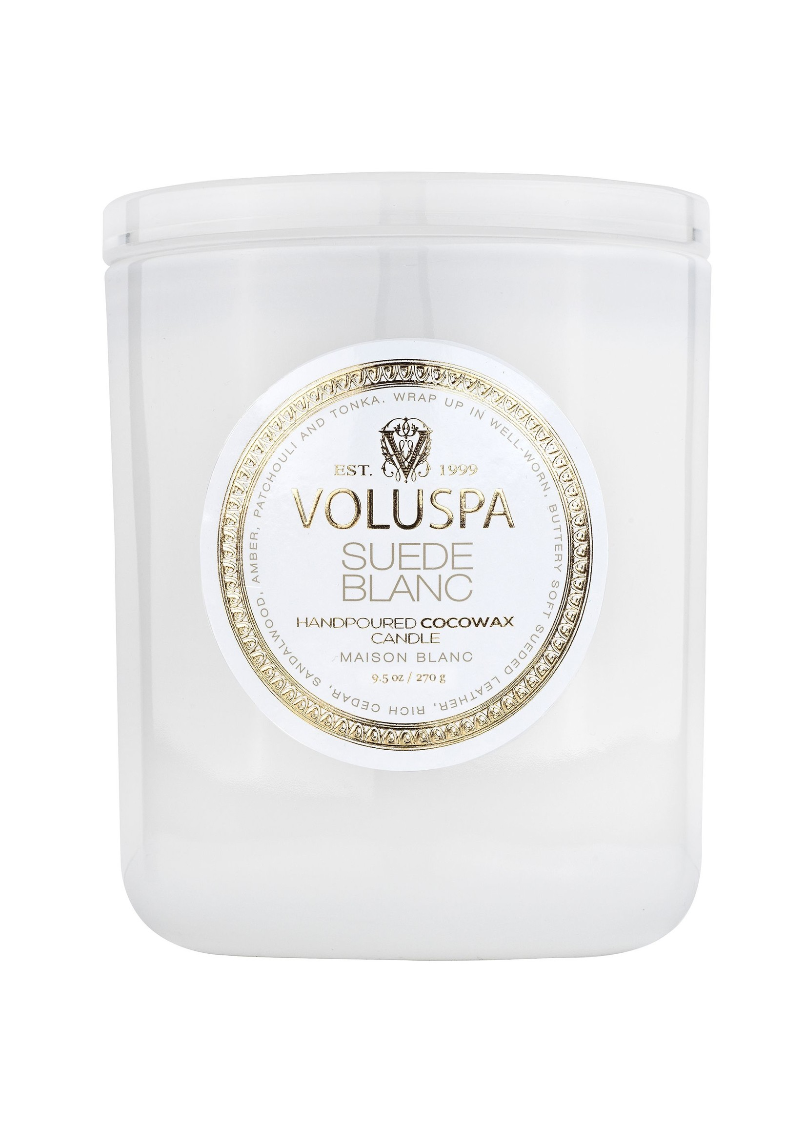 Suede Blanc Classic Candle