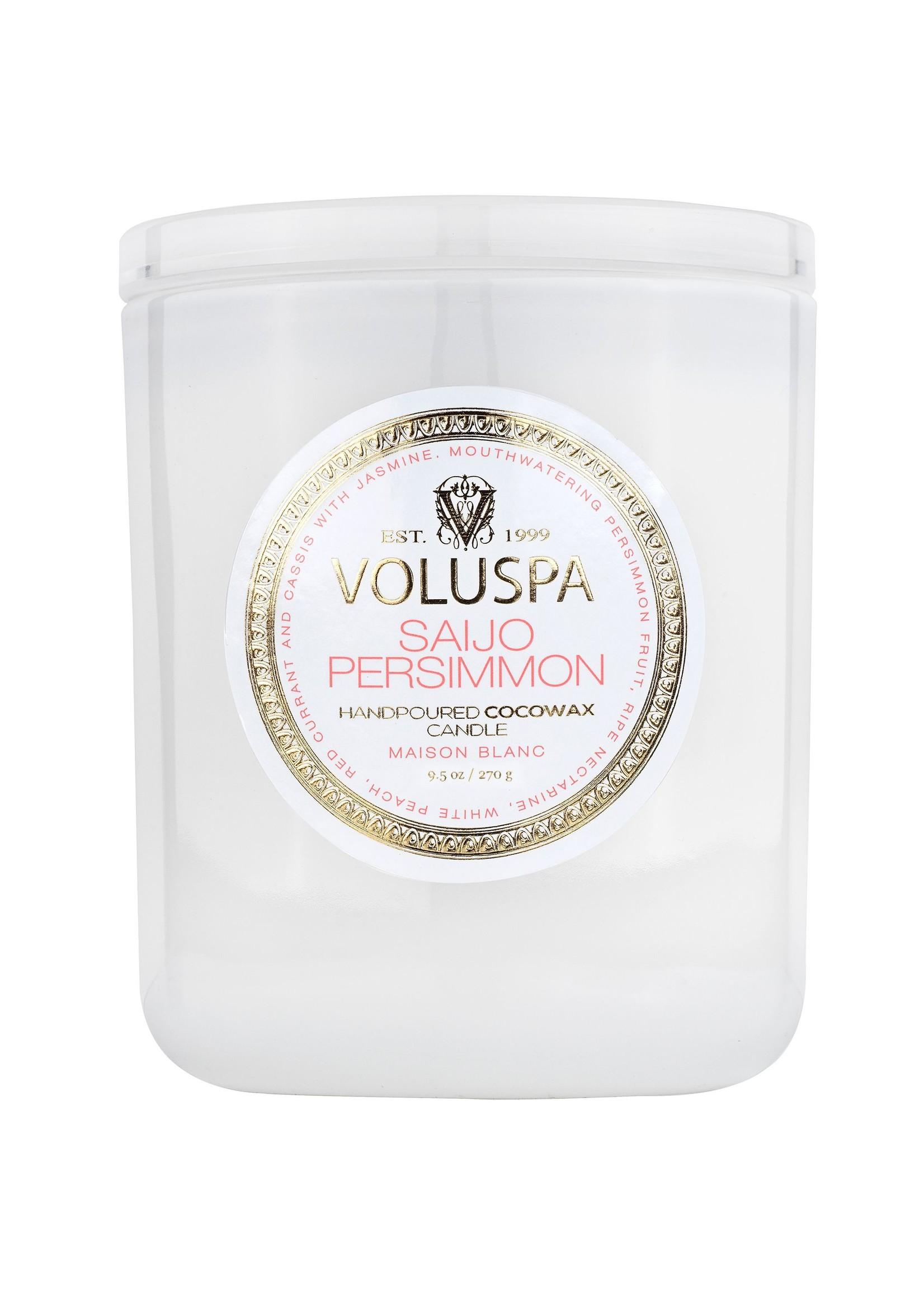 Voluspa Saijo Persimmon Classic Candle