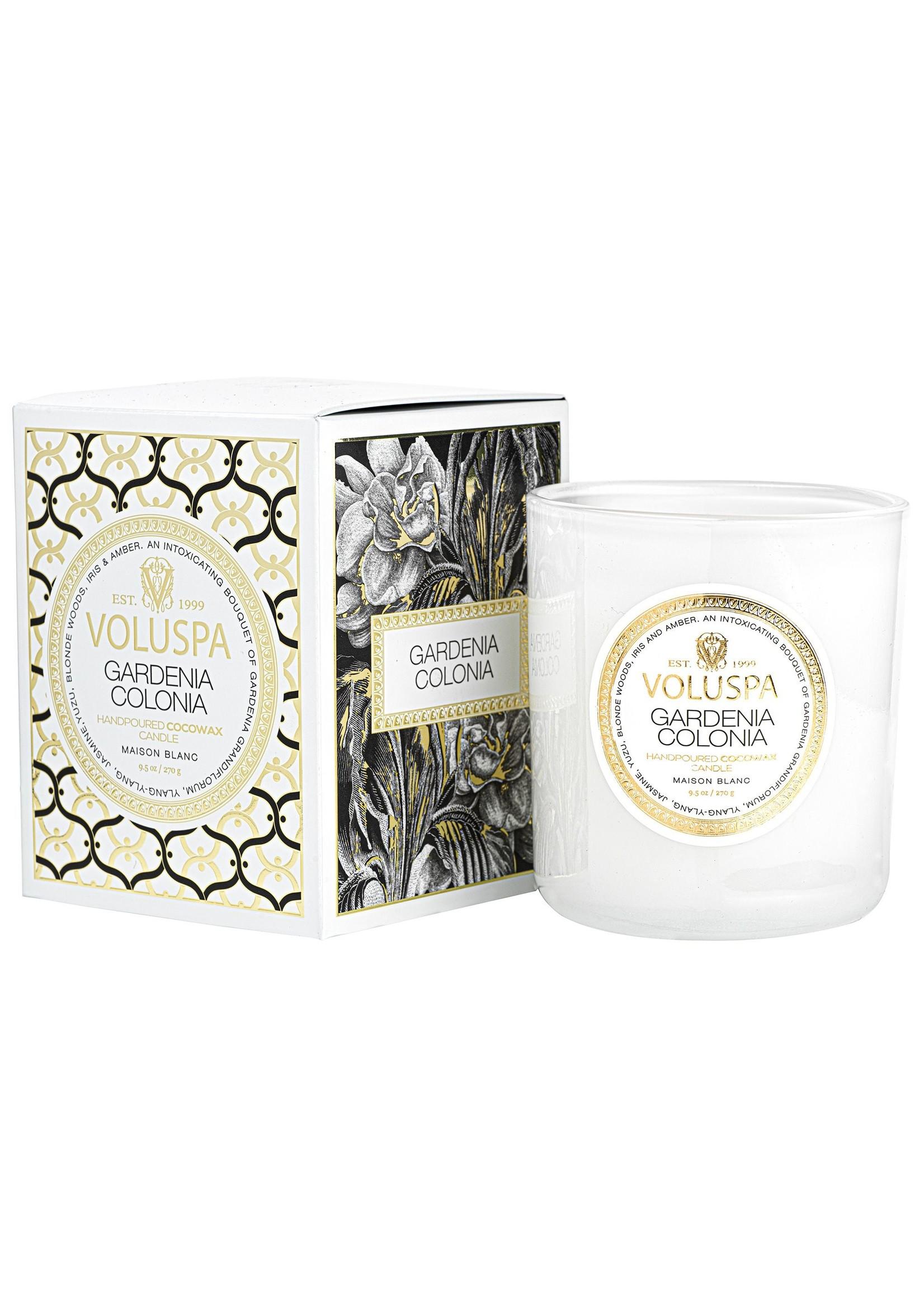 Voluspa Gardenia Colonia Classic Candle